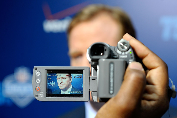 It's a Goodell inside a Goodell. I'm scared.