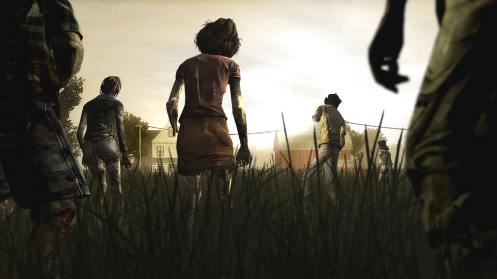 The Walking Dead for PS4, Xbox One listed at GameStop