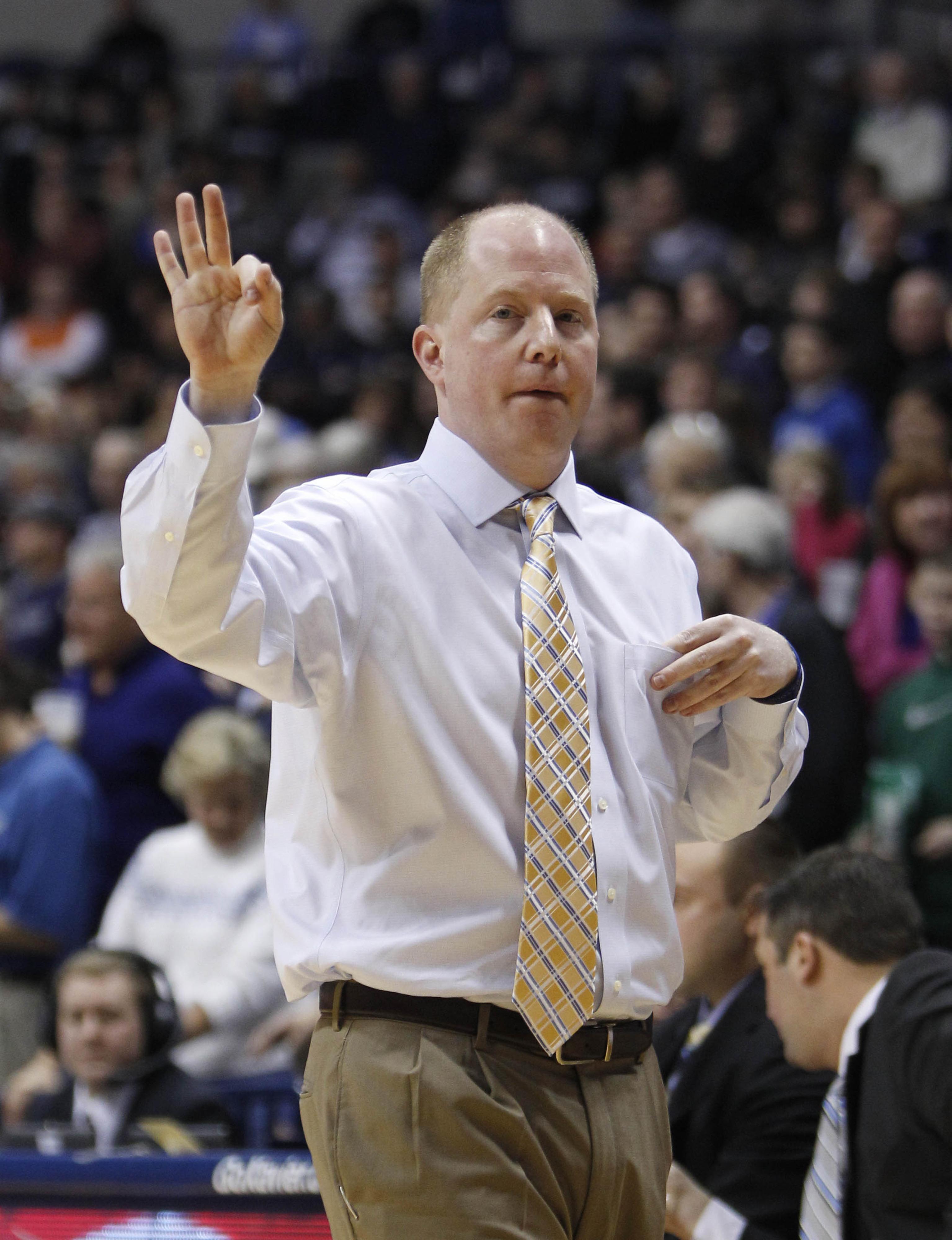 """Coach Senderoff says """"Three more big men please."""""""