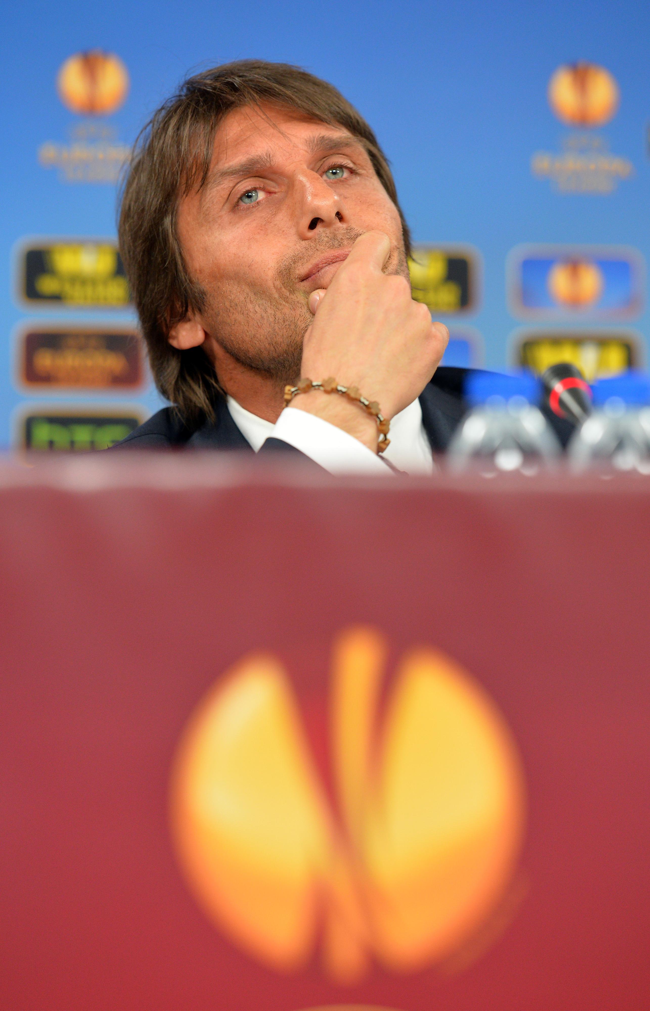 Antonio Conte: Thinking man.