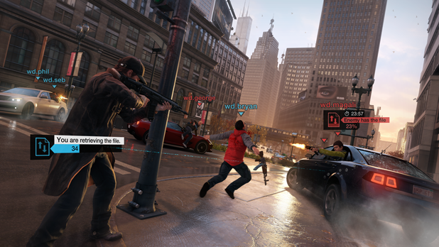 Here's how Watch Dogs will allow you to interact with others in multiplayer