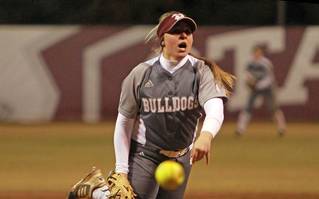 Alexis Silkwood struck out nine while picking up the win against Arkansas