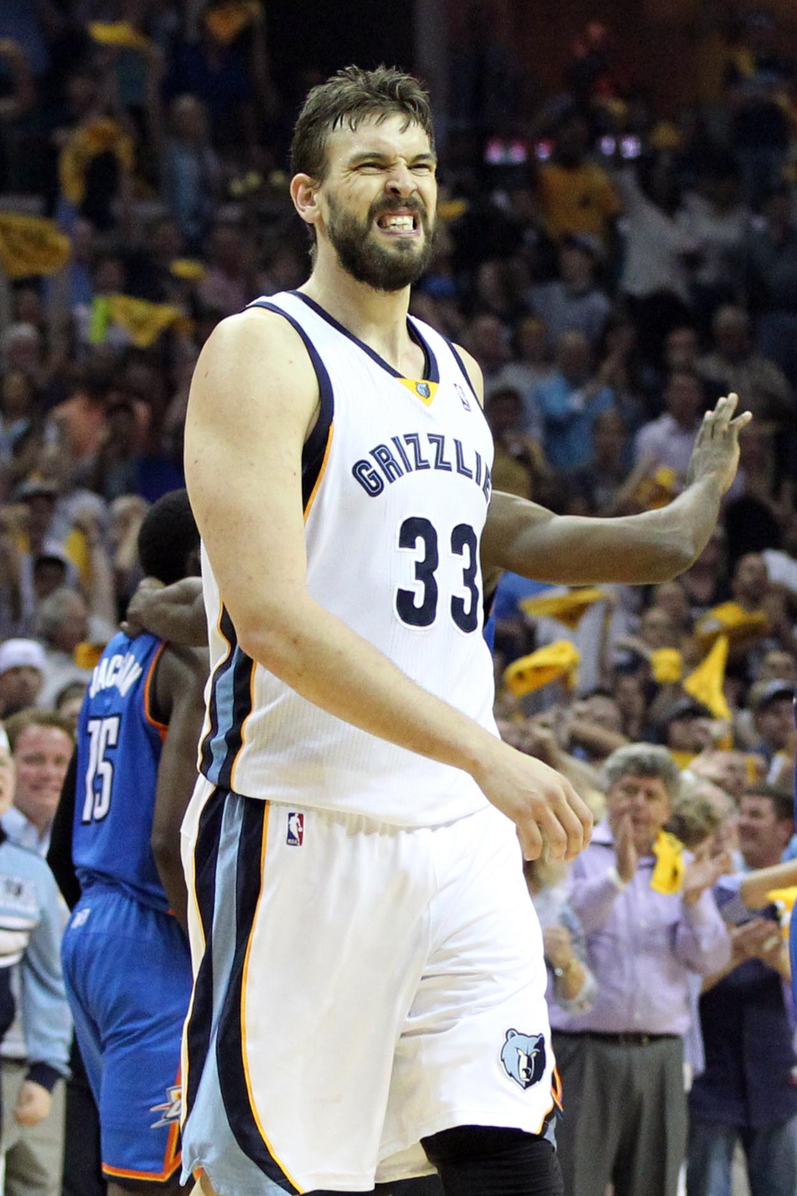 Marc Gasol's toughness will be on full display at the FedEx Forum tonight.