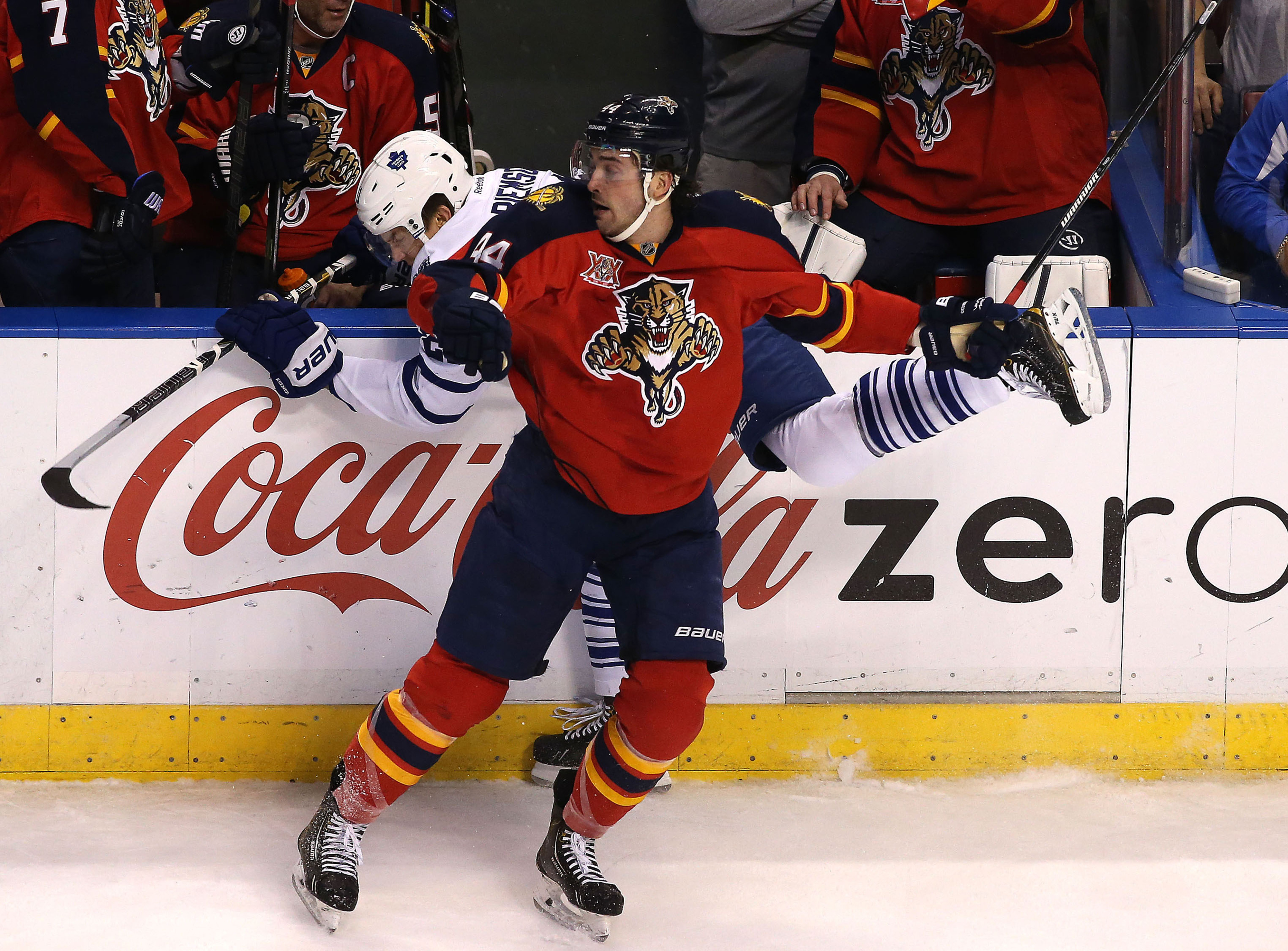 Gudbranson has proven he can be an intimidating force on the blue line.