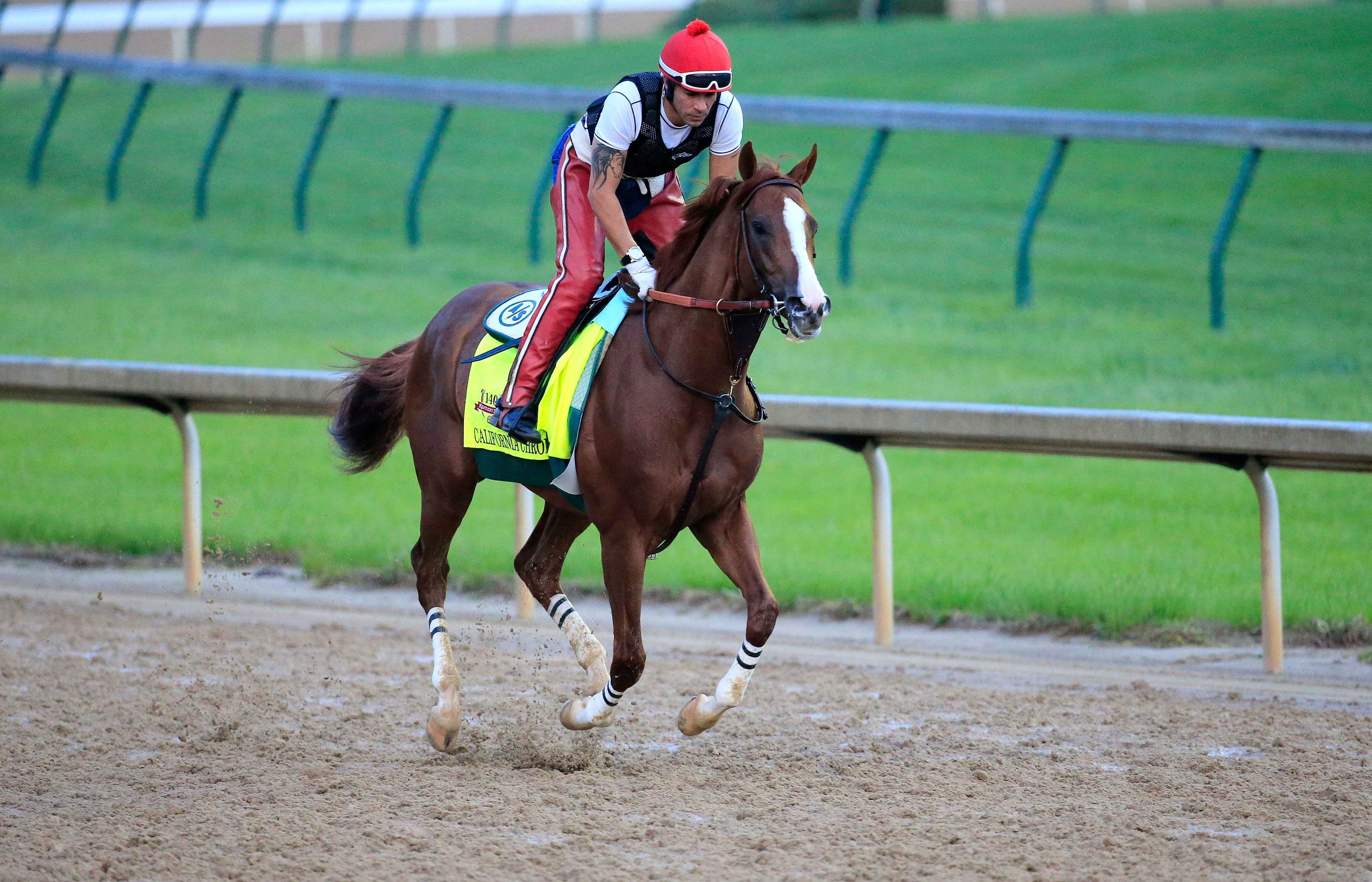 A $1 Oaks/Derby Double of Untapable and California Chrome will return a whopping $5.70. Don't spend it all in one place.