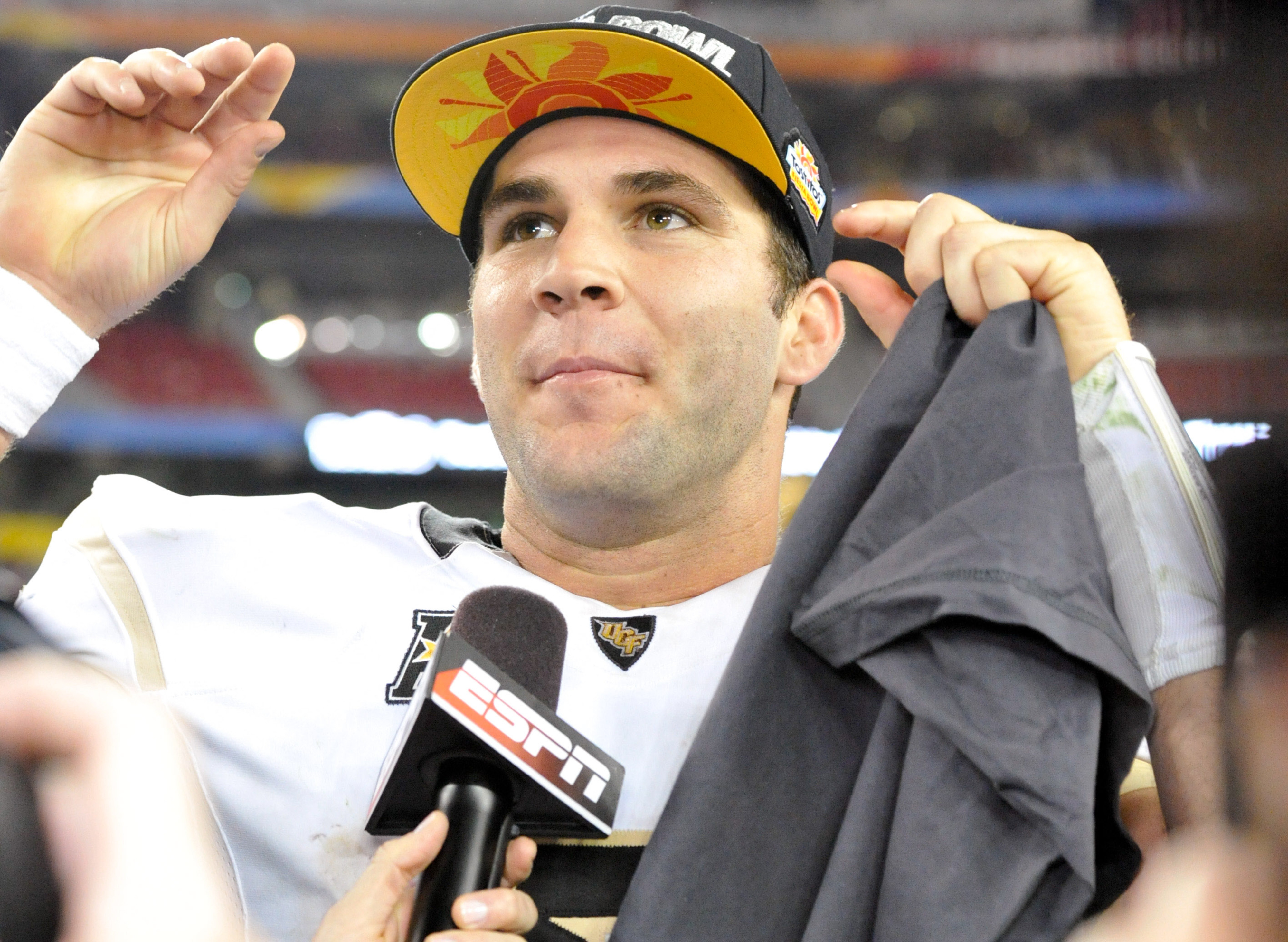 Blake Bortles, you're the most-selected player in the final Daily Norseman Mock Draft Database of 2014! How do you feel?