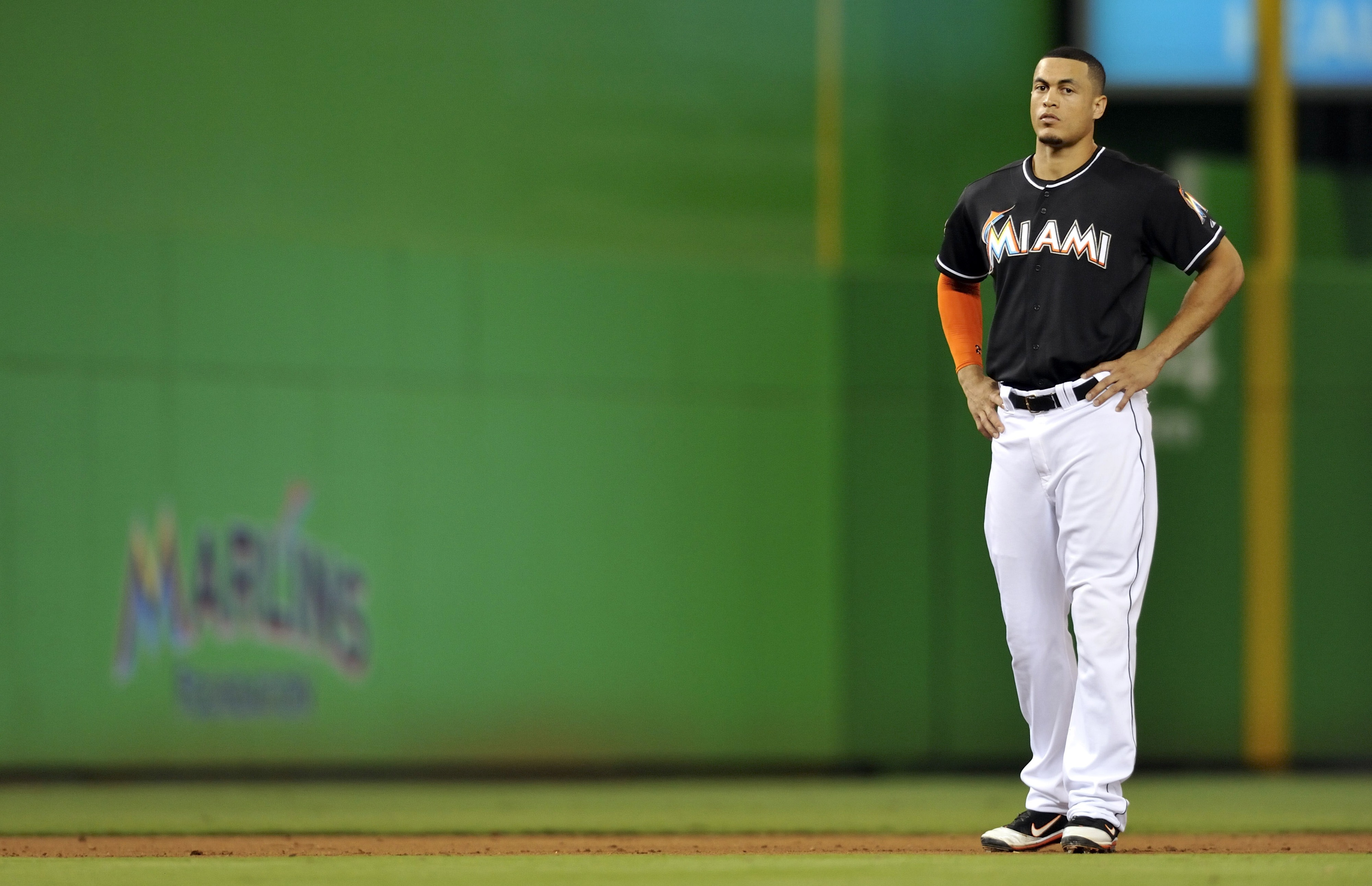 Giancarlo Stanton stands alone in Miami