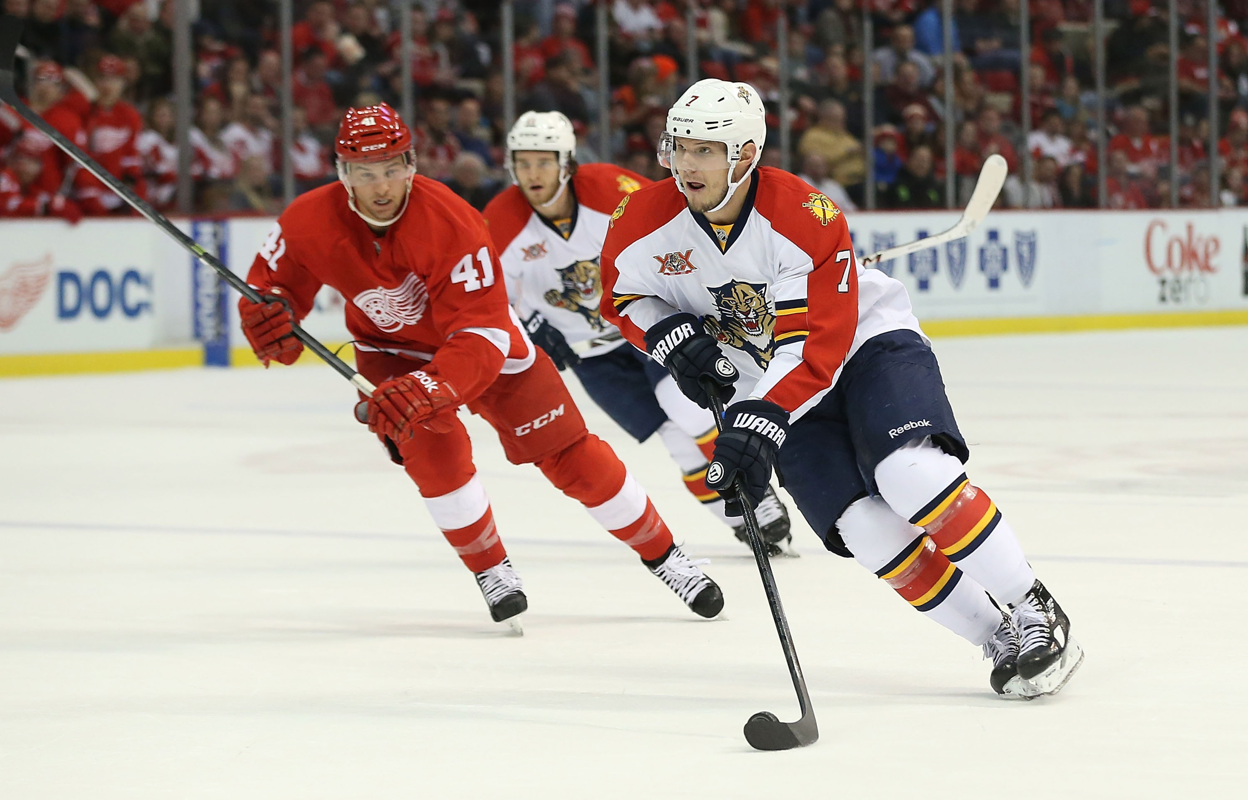 Kulikov has shown flashes of offensive brilliance.