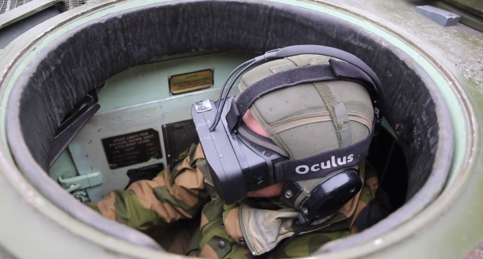 Oculus Rift helps Norwegian army navigate tanks like they're playing Battlefield