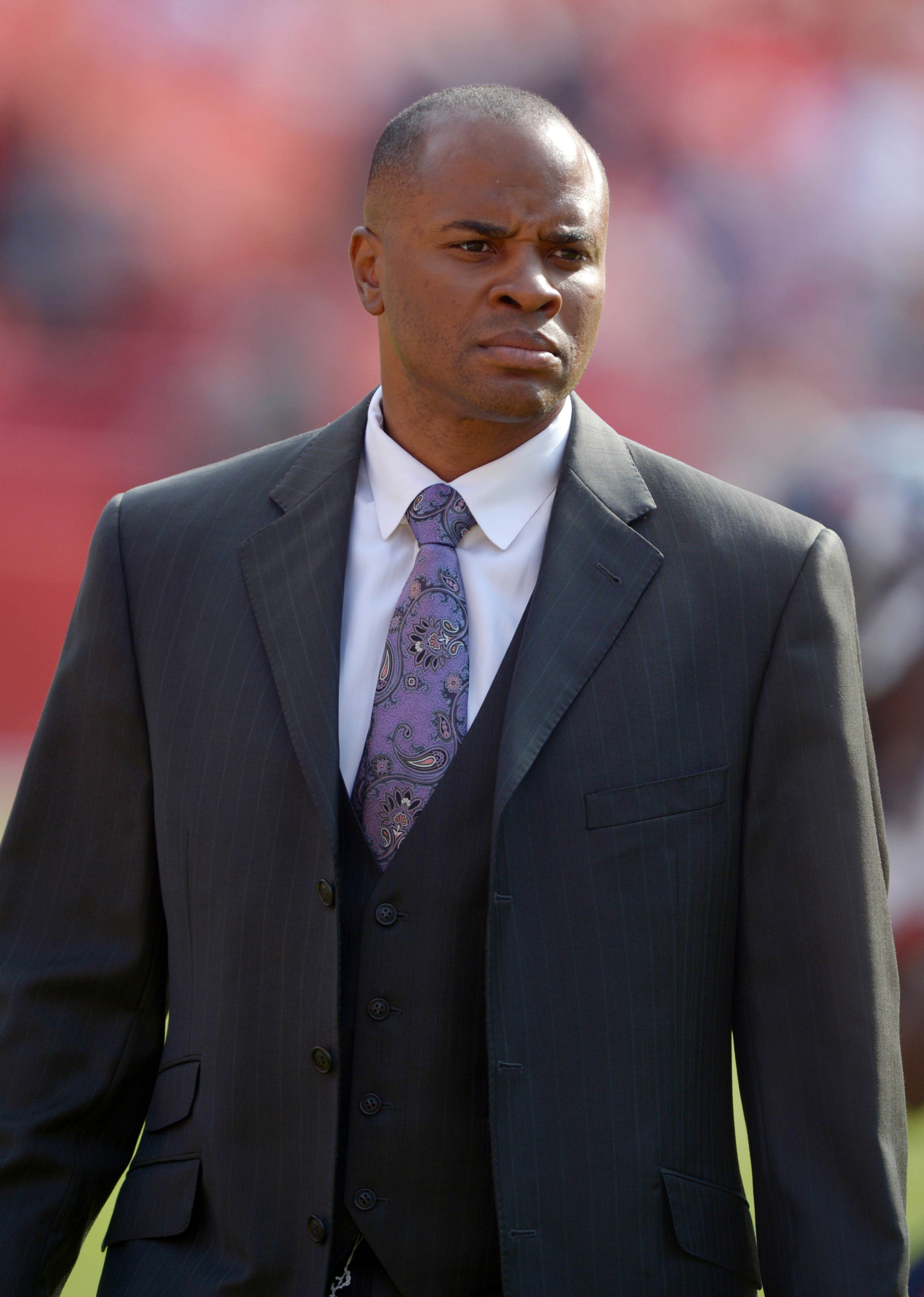 Pictured above is Houston Texans general manager and leading theoretical physicist Rick Smith, seen here contemplating the infinite vastness of the universe.
