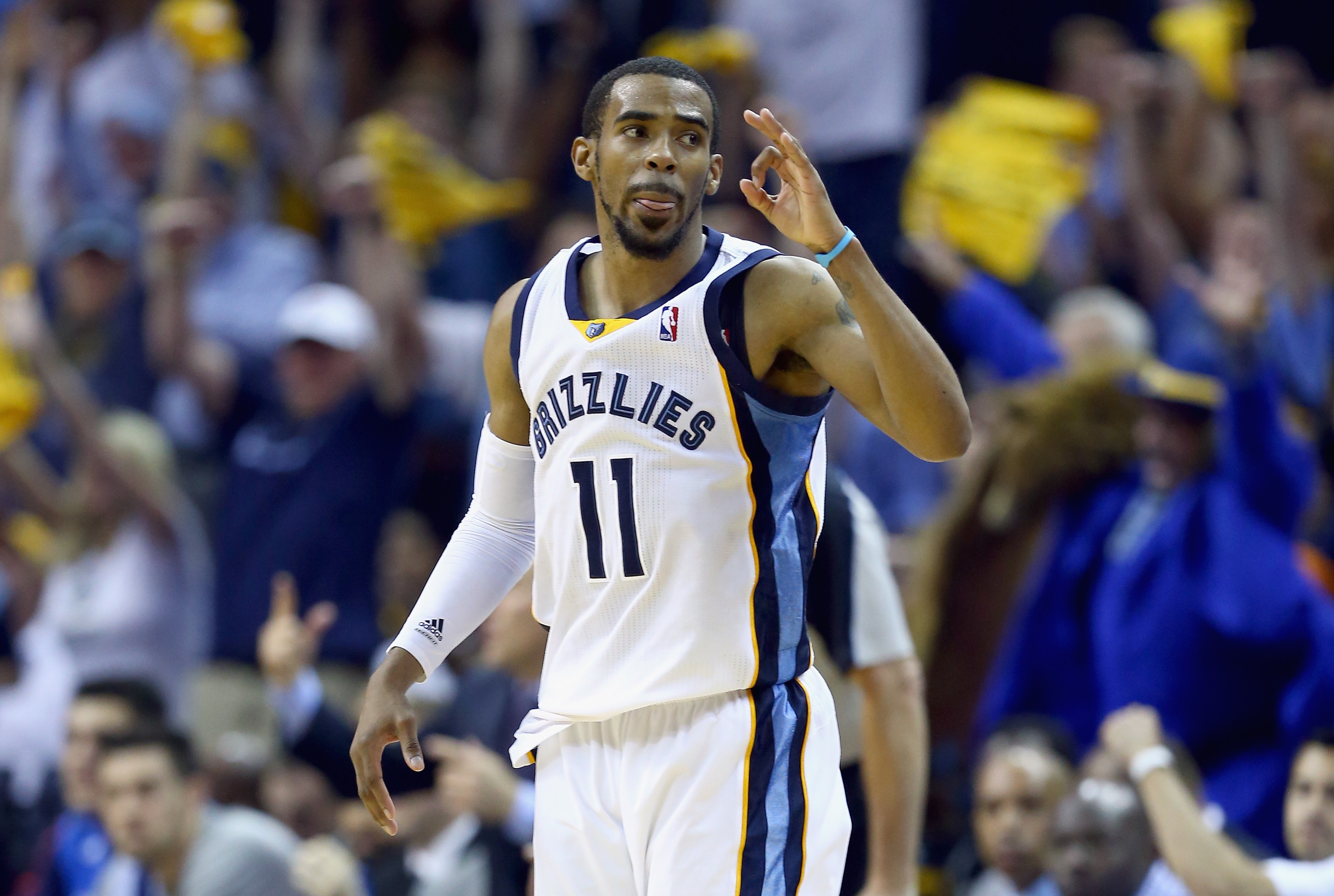Mike Conley showed some improvements, but still has room to grow his game.