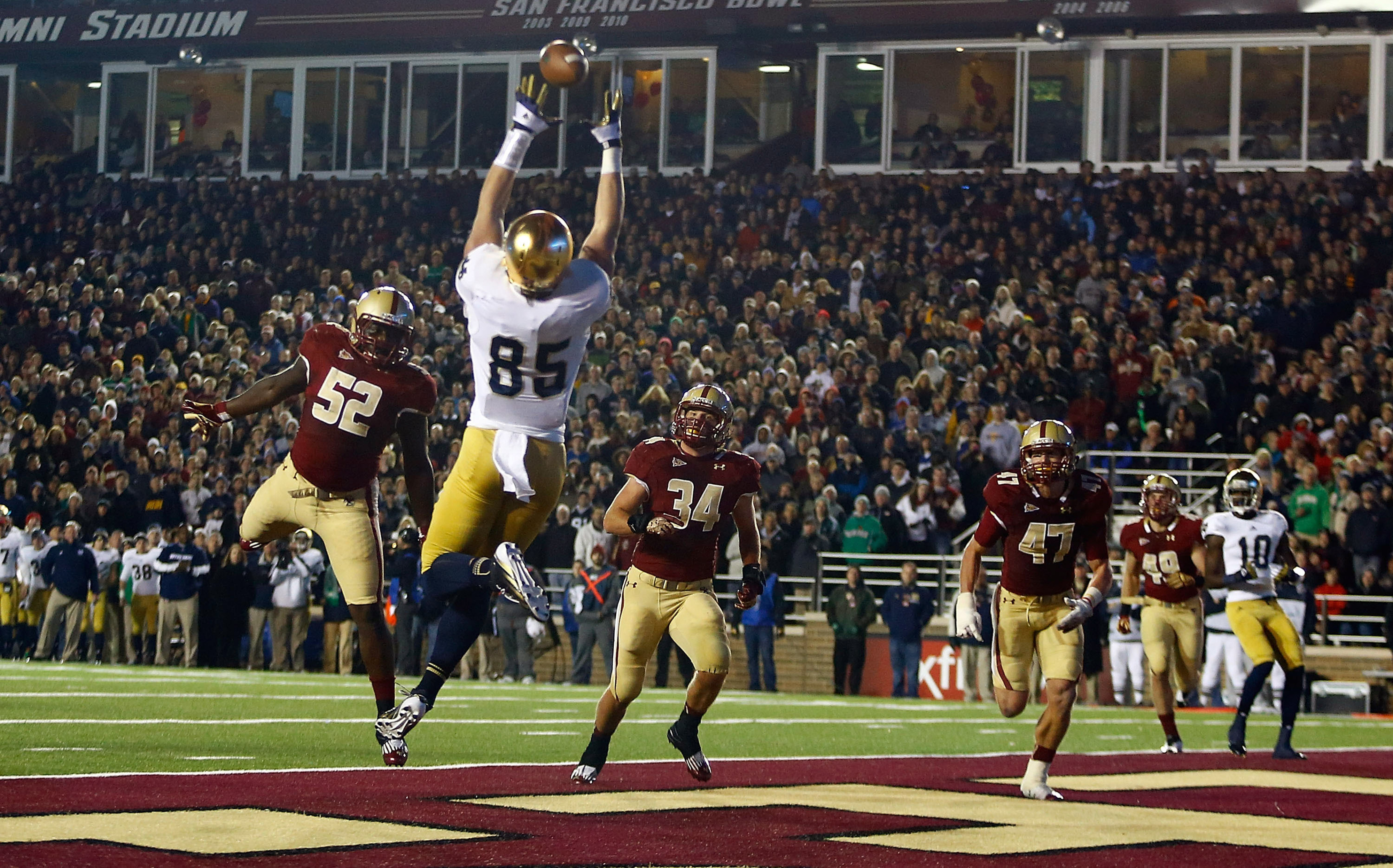 Cardinals selected big tight end Troy Niklas #52 overall