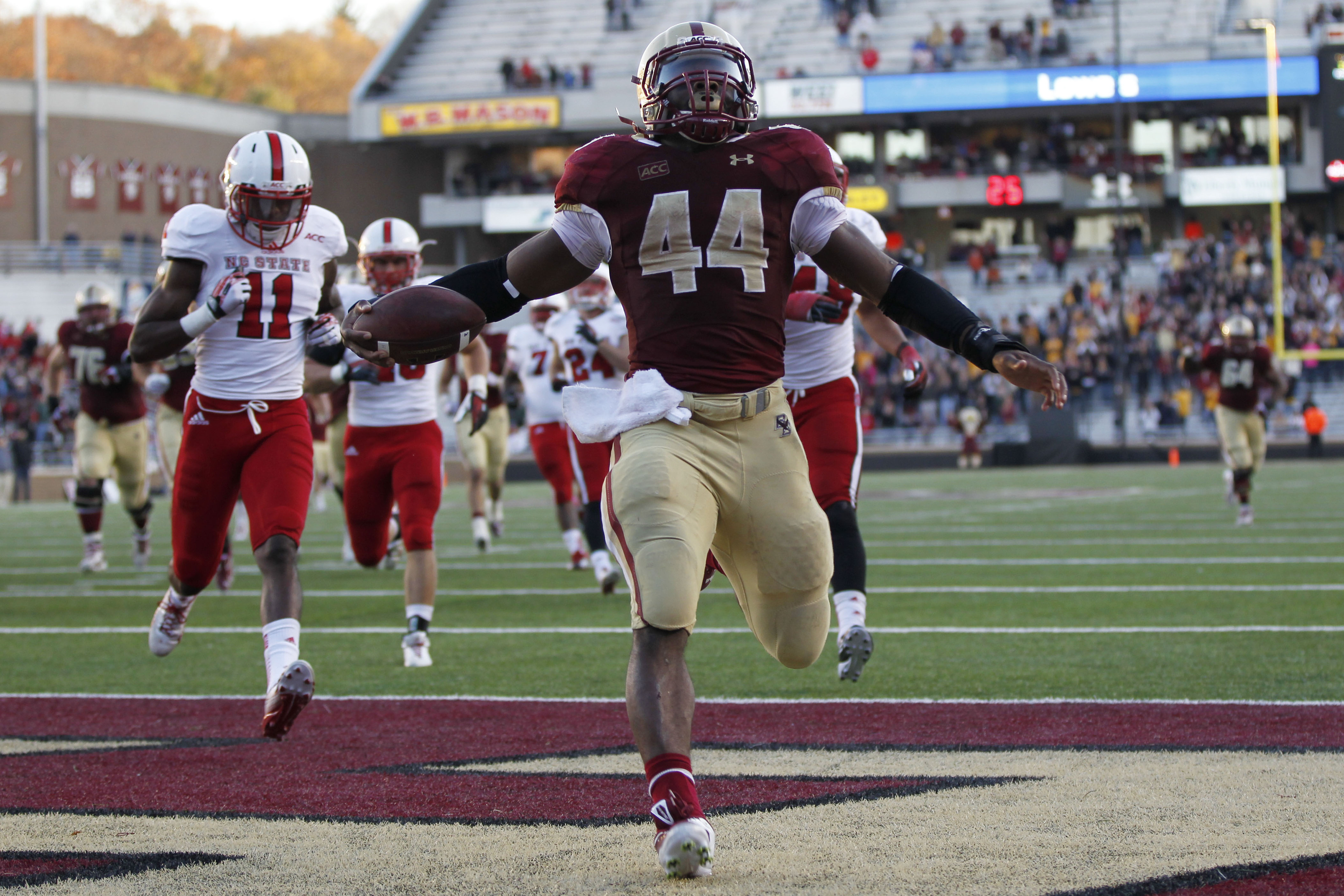 Boston College running back Andre Williams.