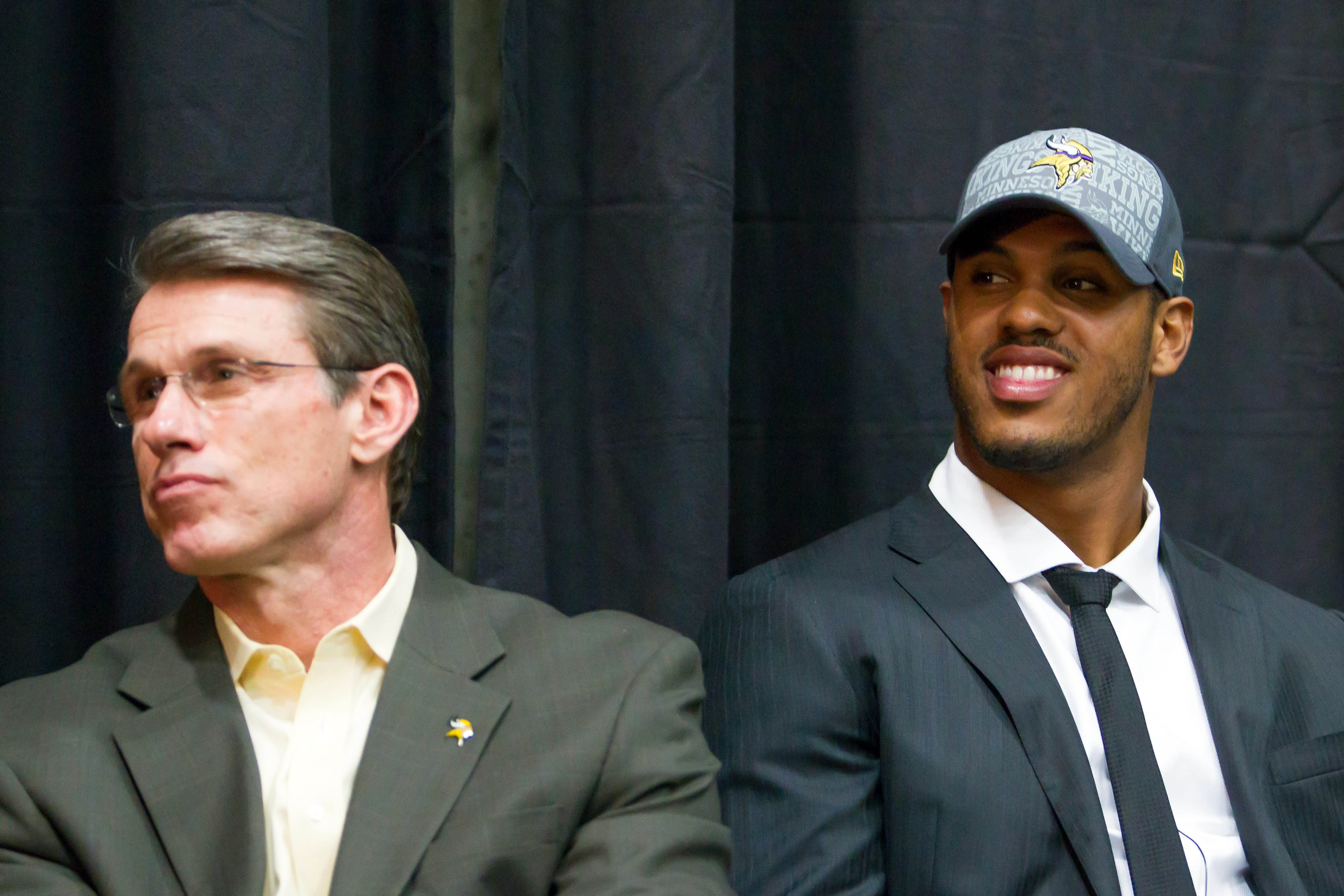 The look on Rick Spielman's face just kind of says it all, doesn't it?