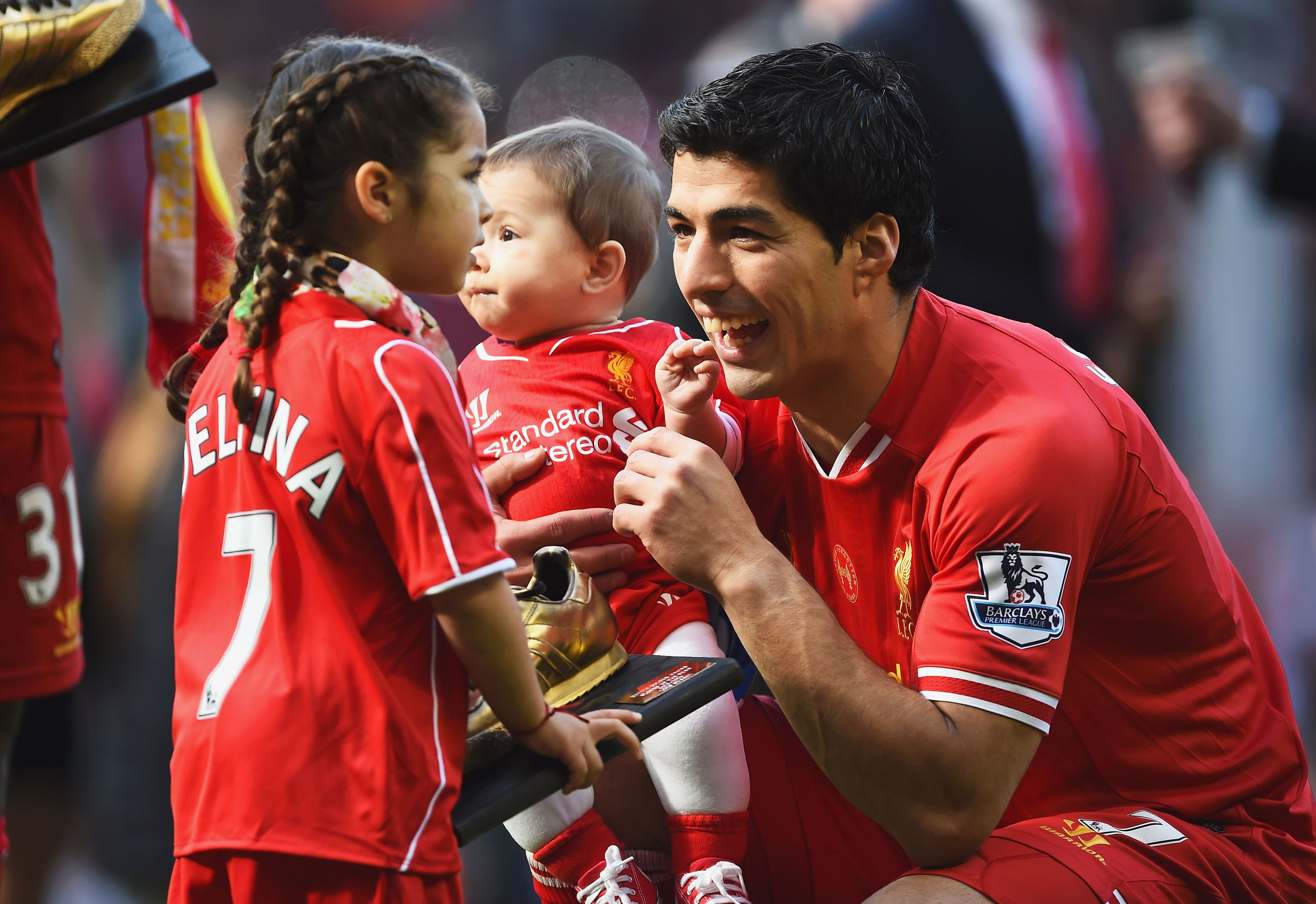 """""""Dad, tell us the Ivanovic story again..."""" """"Well, I grabbed his arm like this, and..."""""""