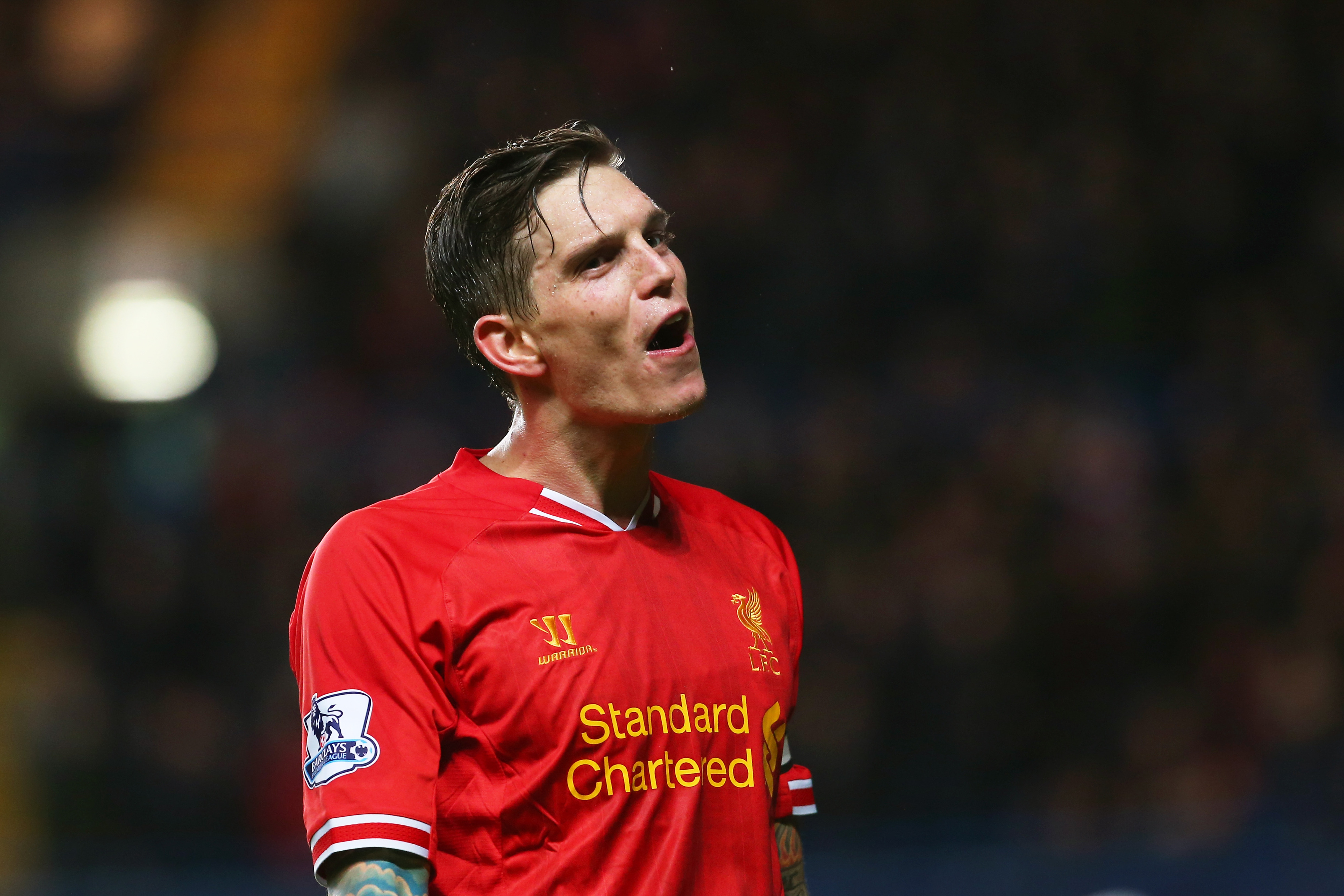 There are no photos in the database featuring both Agger and Sakho. Surprise!
