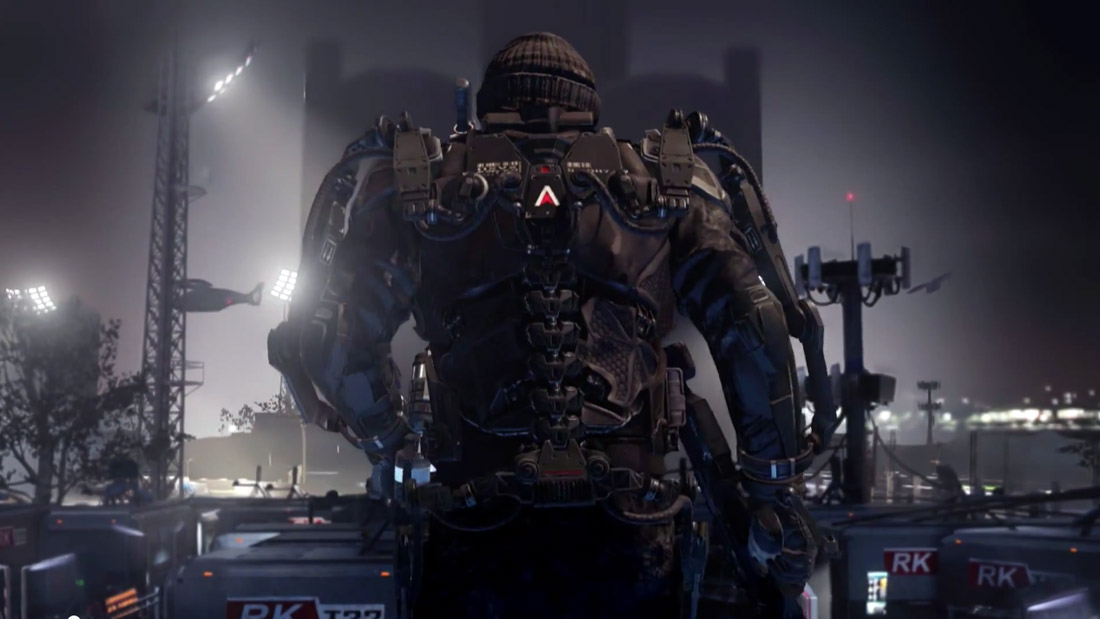 The story of Call of Duty: Advanced Warfare took more than two years to write