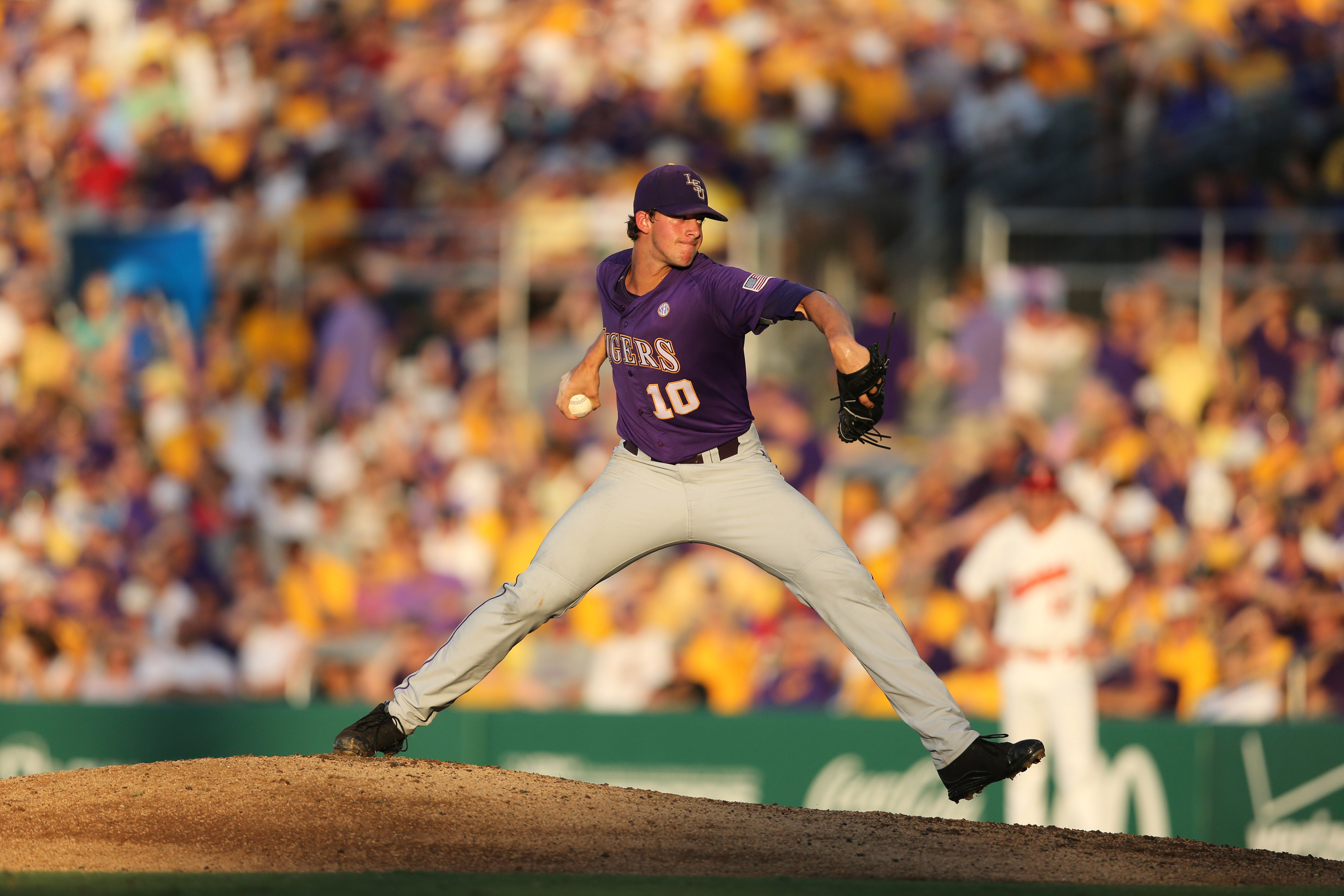 LSU's Aaron Nola is one of the many pitchers to watch in the upcoming amateur draft.