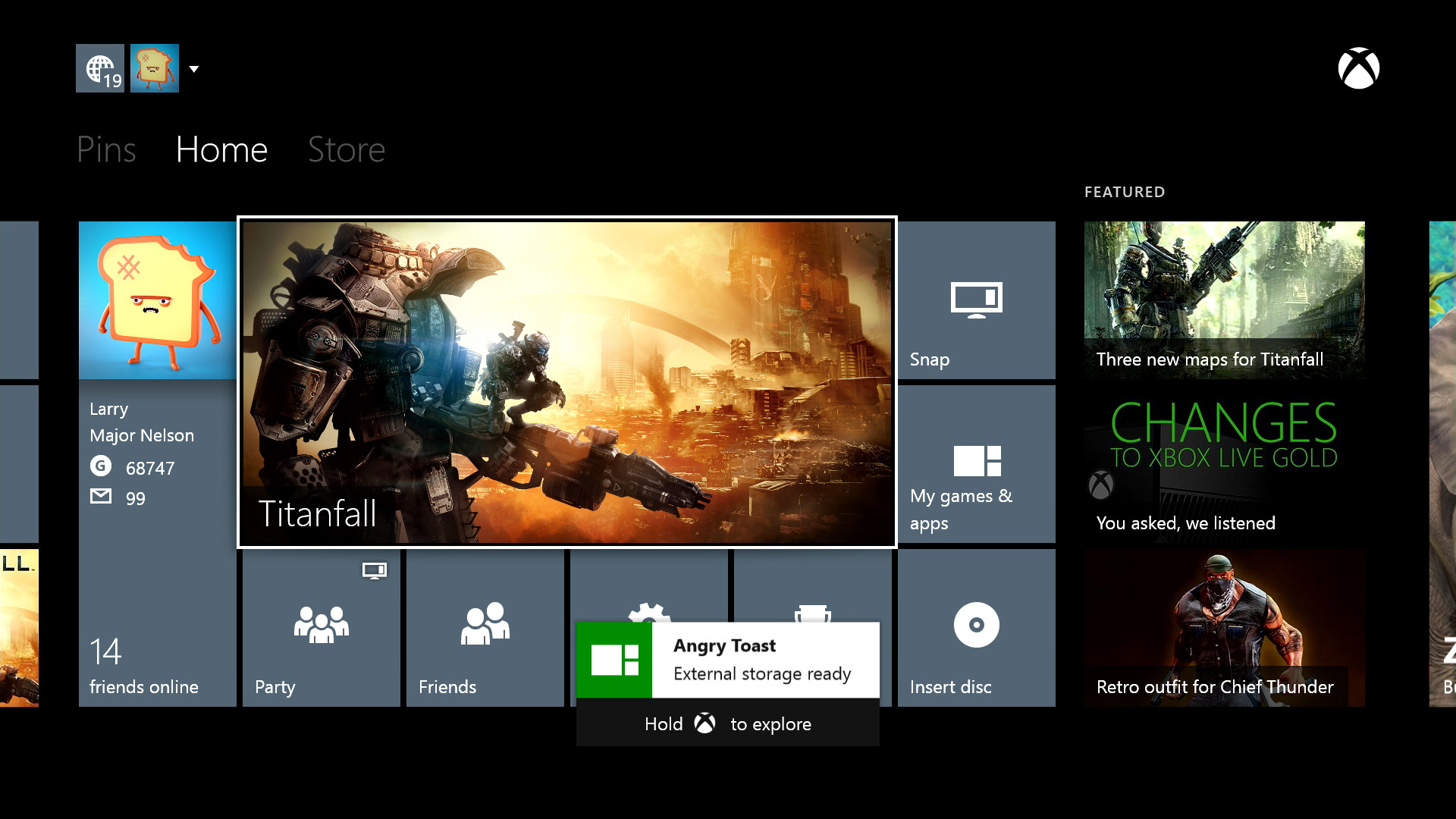 Xbox One gets external storage, real name support with June system update