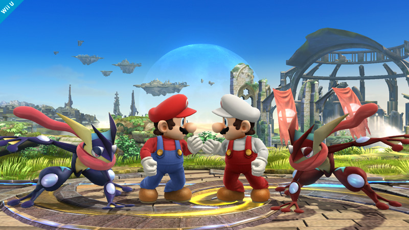 Super Smash Bros. for Wii U will properly mirror certain characters