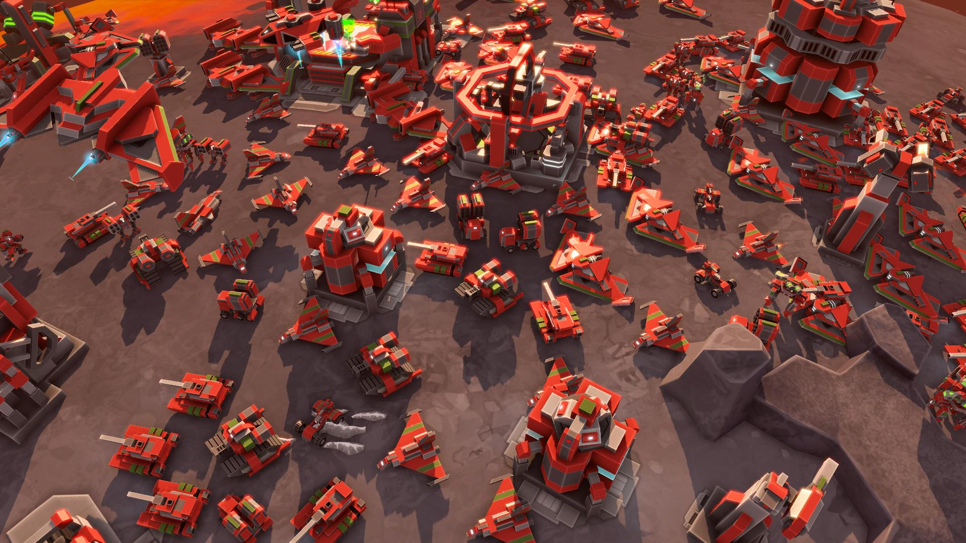 Planetary Annihilation gets single-player Galactic War content today