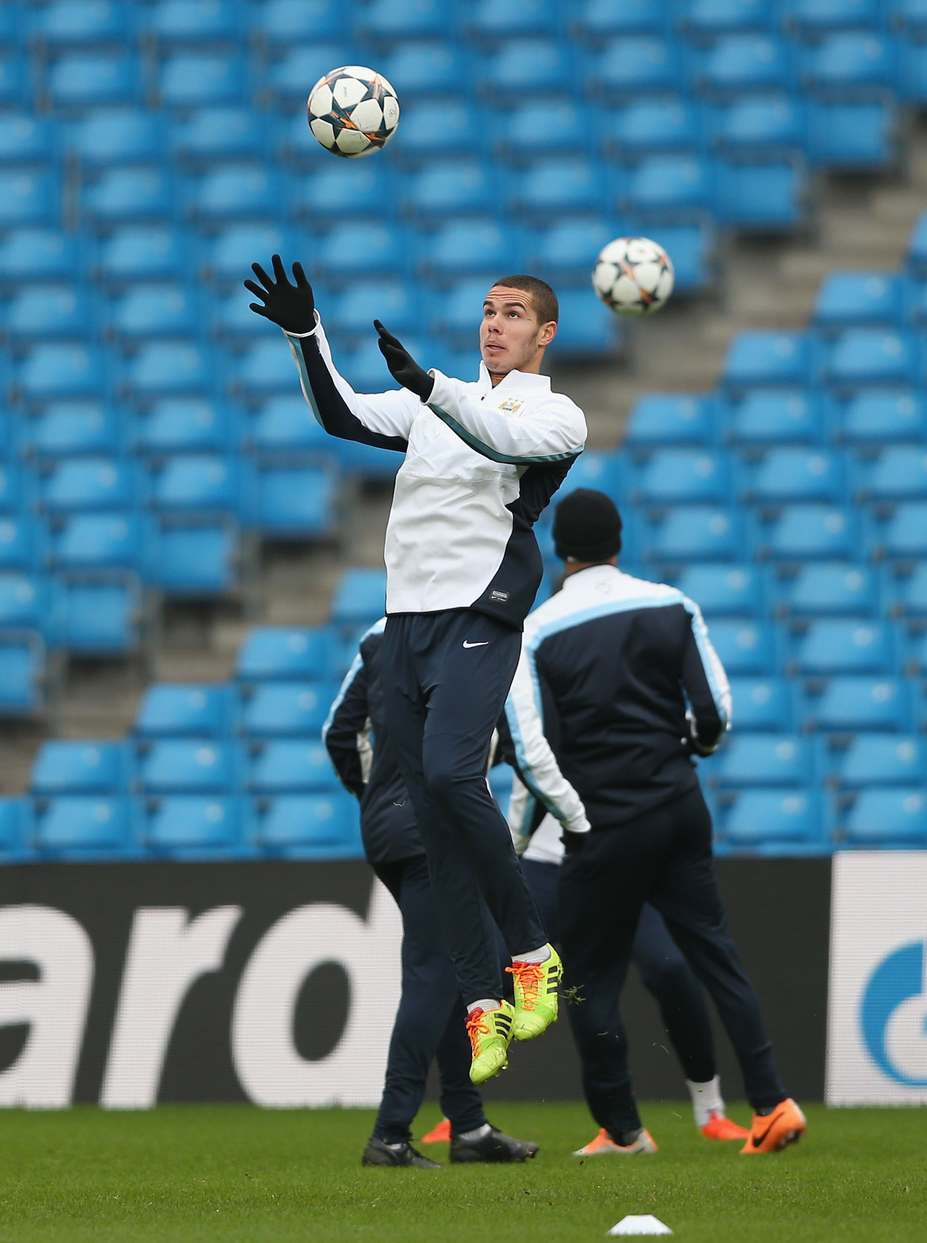 Rodwell in training
