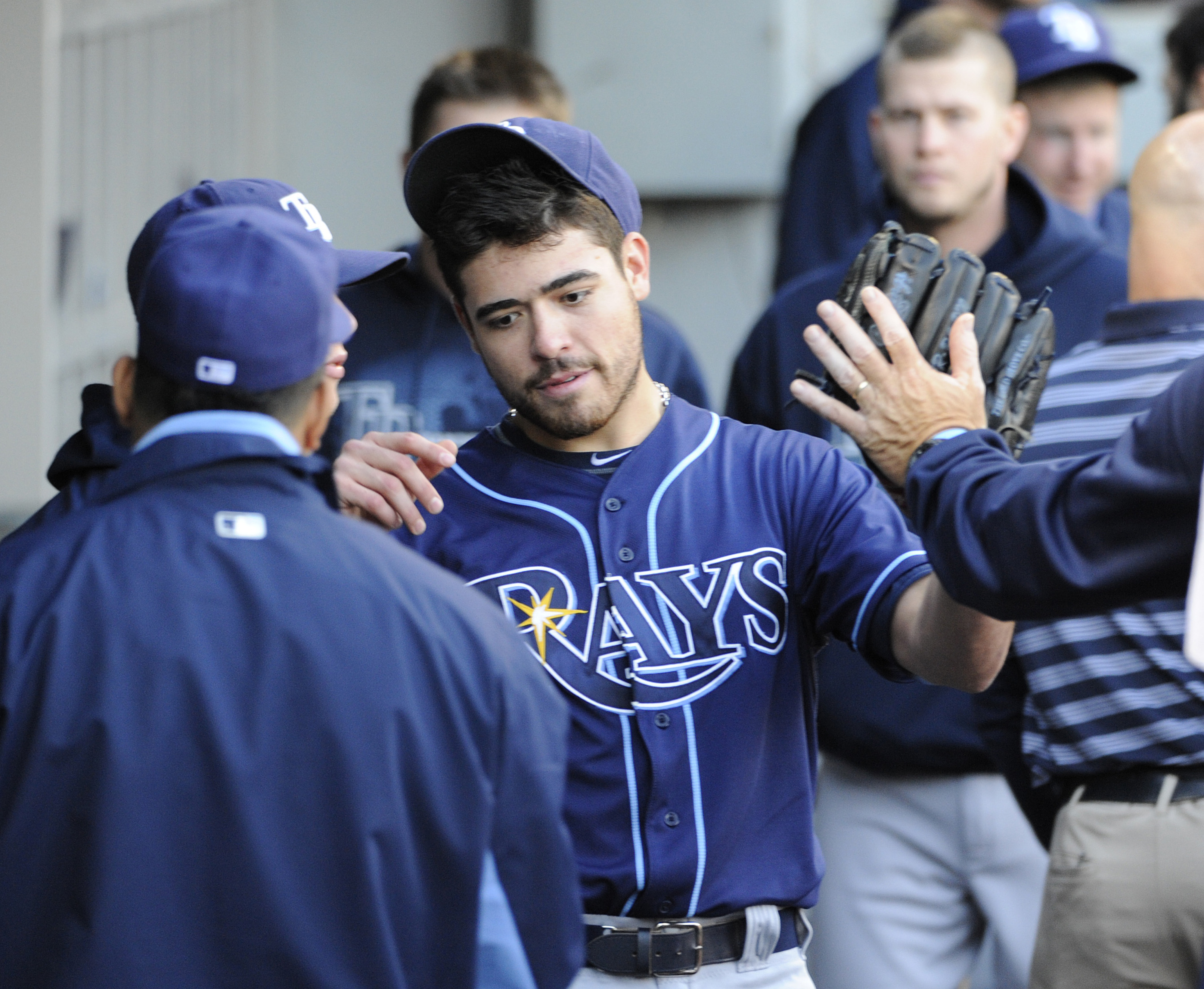 Matt Moore once used to be just a sleeper prospect in the lower minors