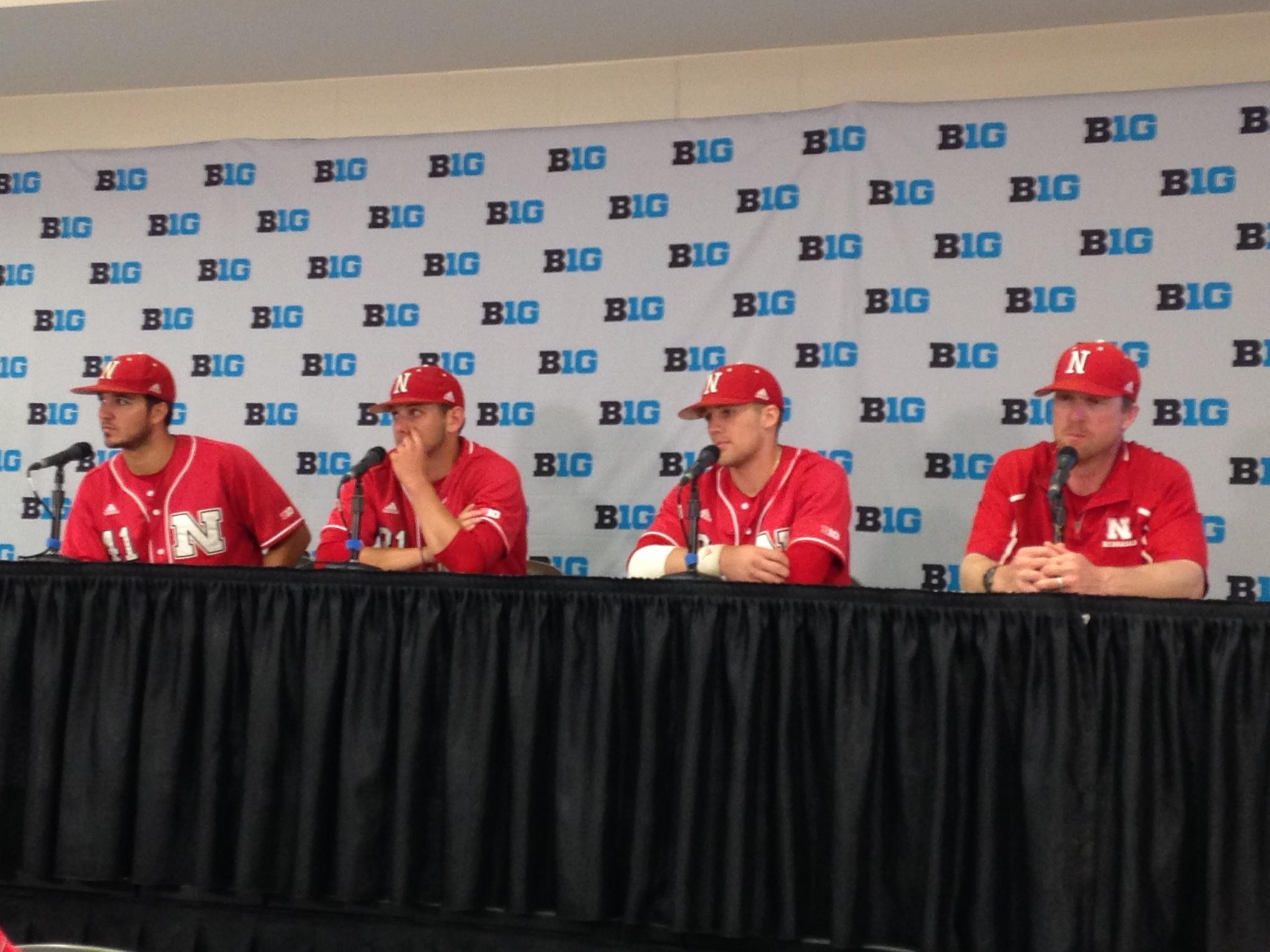 Austin Darby, Tanner Lubach, Kyle Kubat, and Darren Erstad