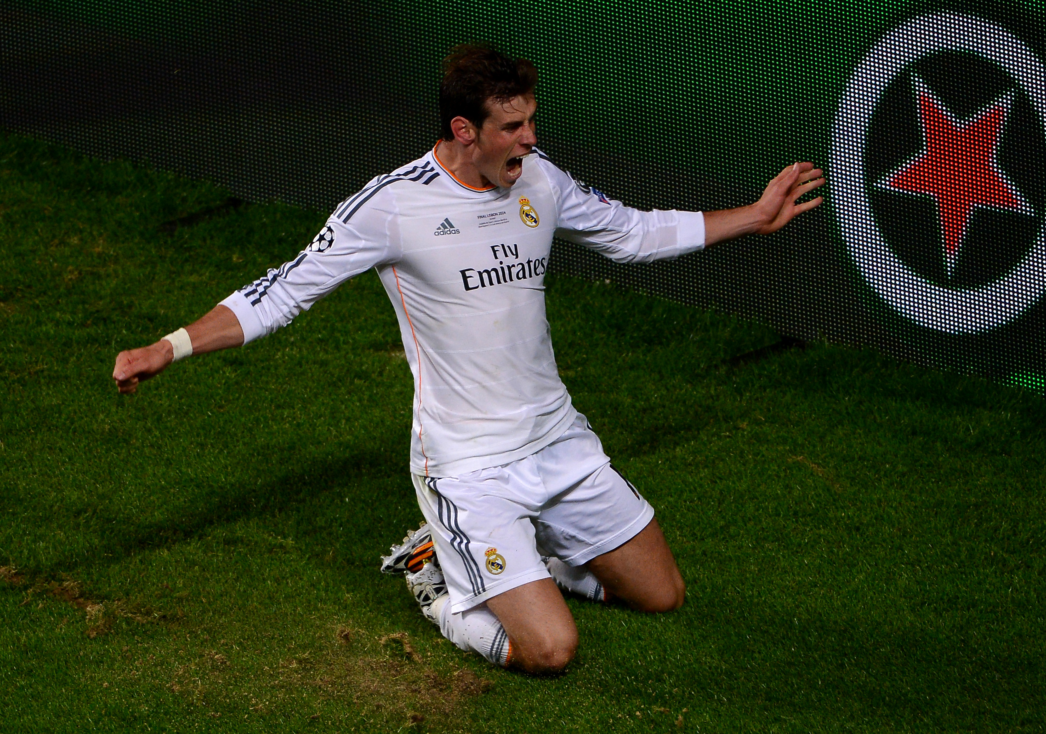 Real Madrid vs. Atlético Madrid, 2014 Champions League: Final score 4-1, Gareth Bale wins the Champions League for Los Blancos