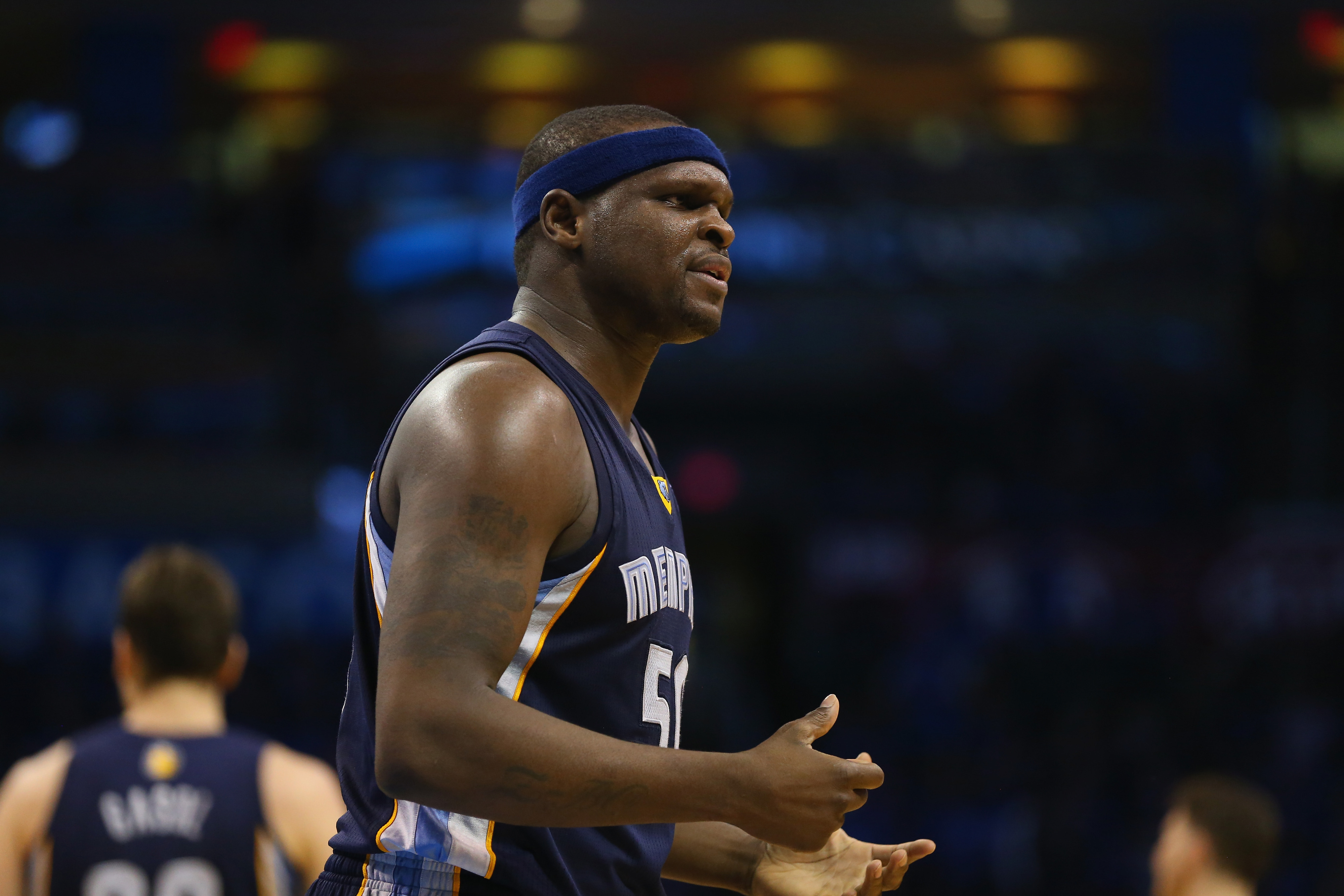 Zach Randolph was a key cog to the Grizzly machine this season.
