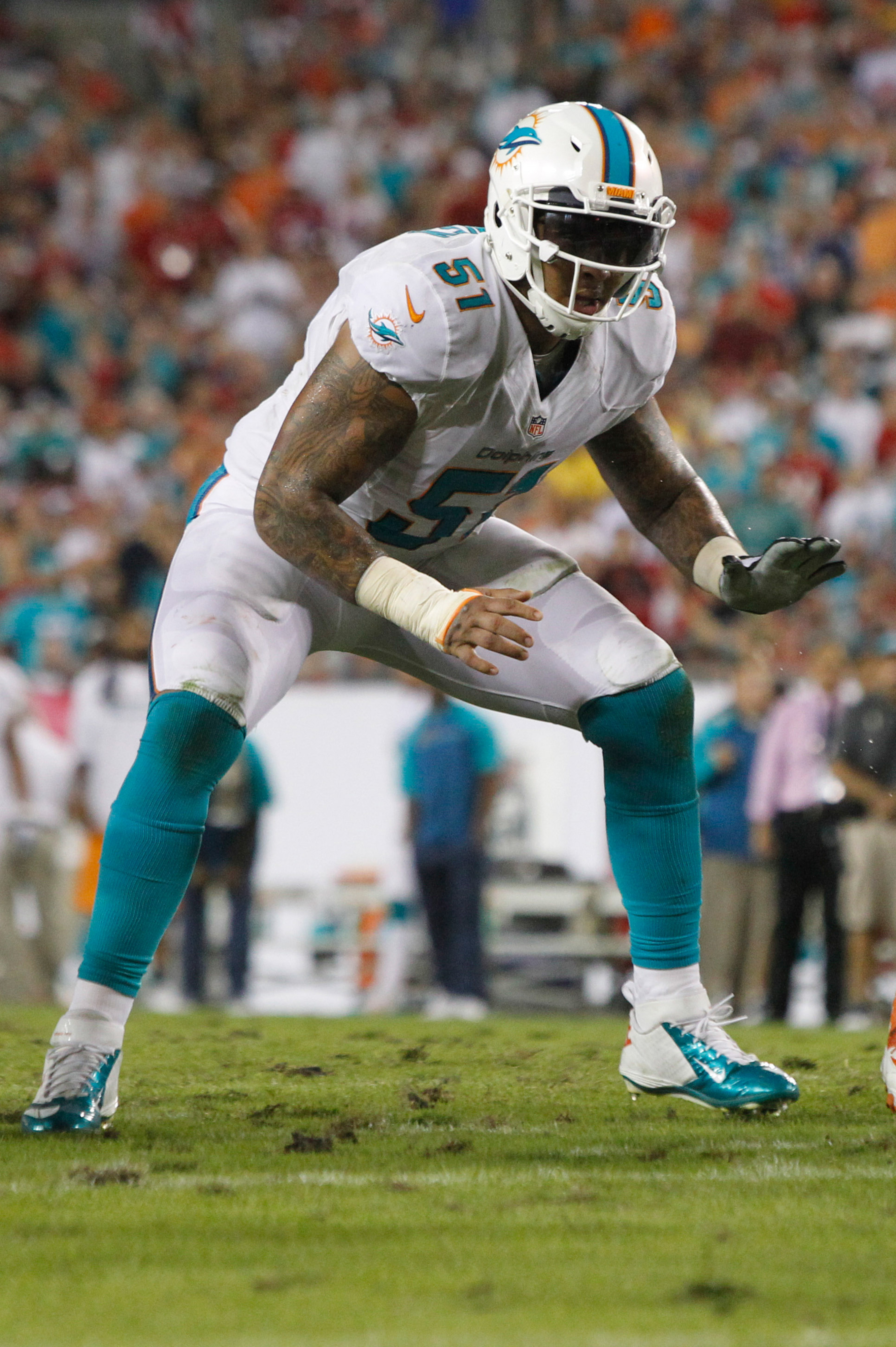 Mike Pouncey hasn't undergone psychological testing, not a fan of the idea