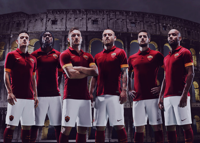 Nike unveil classy first effort for AS Roma 2014/15 home kit