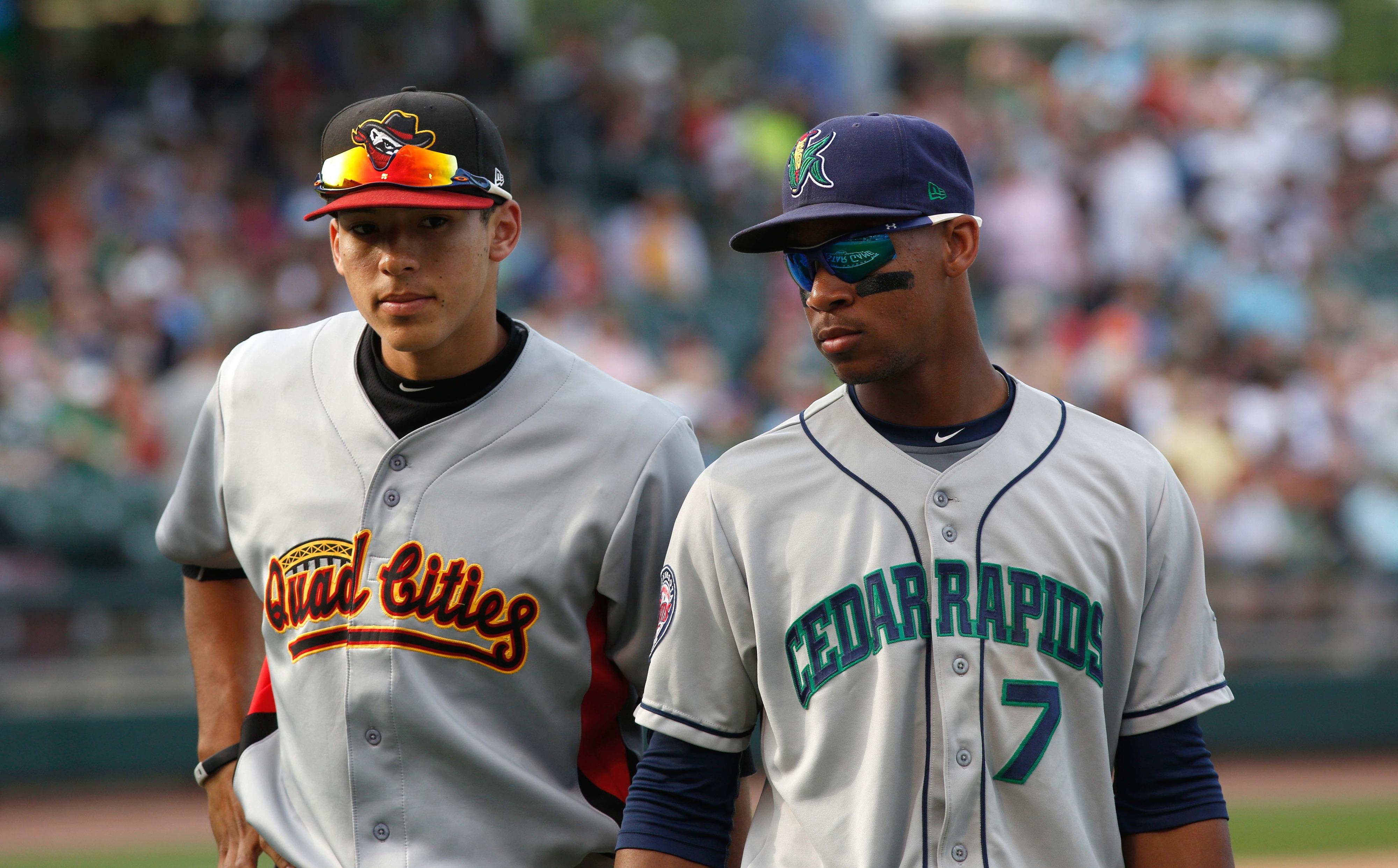 Carlos Correa and Byron Buxton