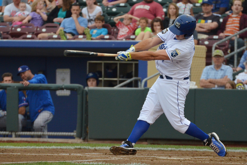 Mike Moustakas made himself the story again, this time by racking up a pair of 3-hit games for Omaha before getting called back up.