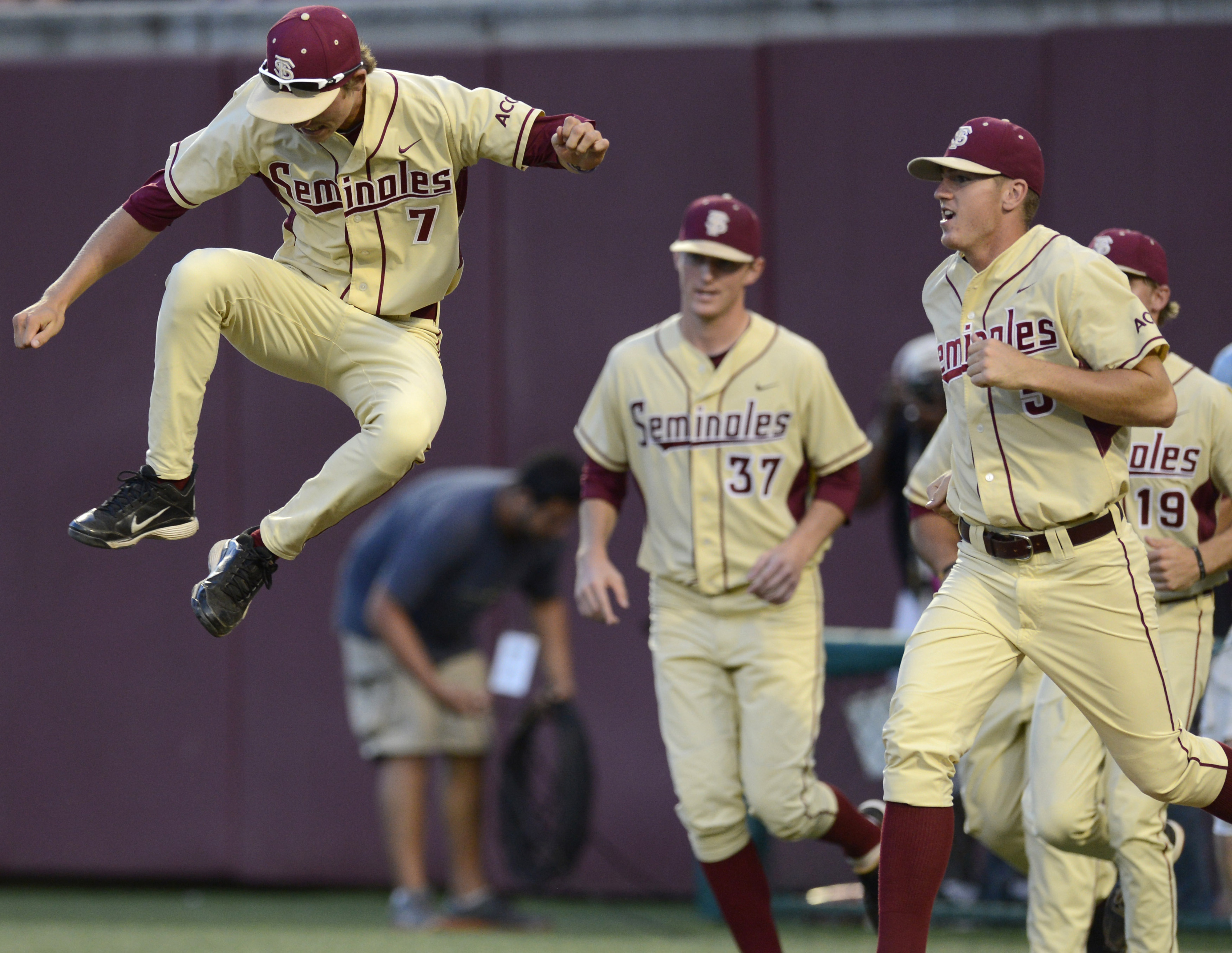 Luke Weaver, or any Seminole for that matter, was not celebrating like that this weekend