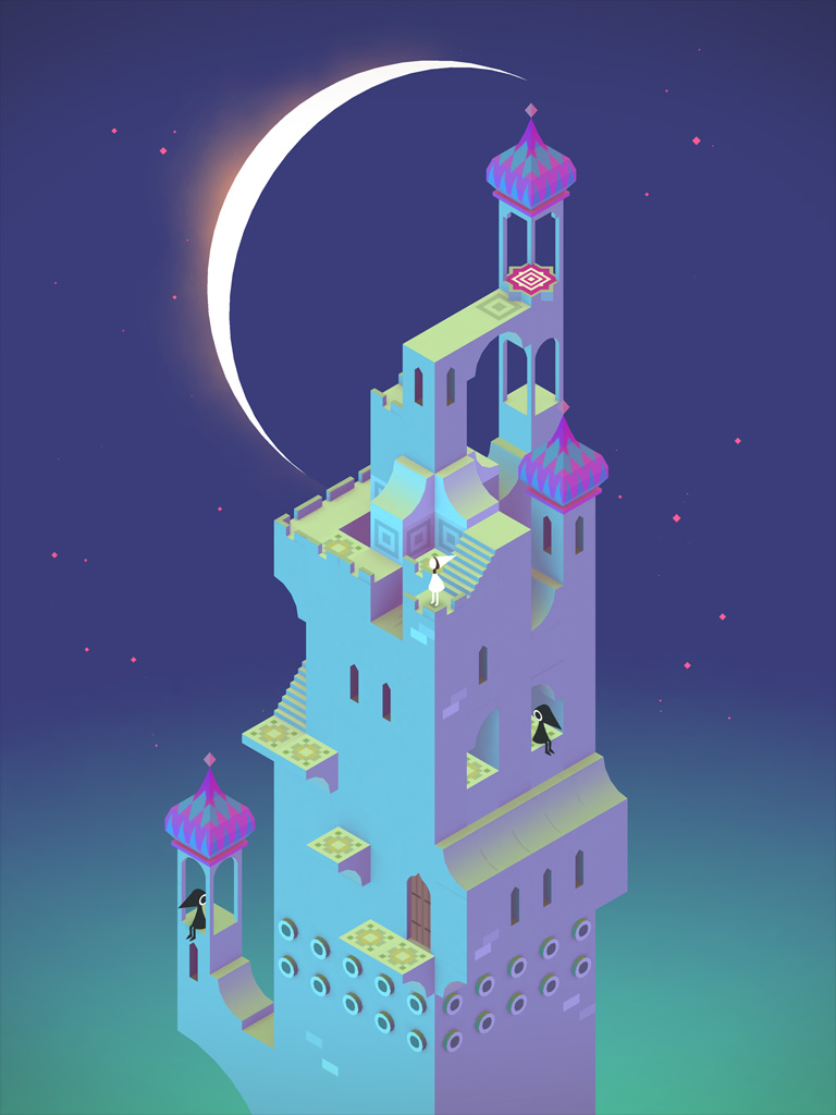 Threes!, Monument Valley and more games win Apple Design Awards