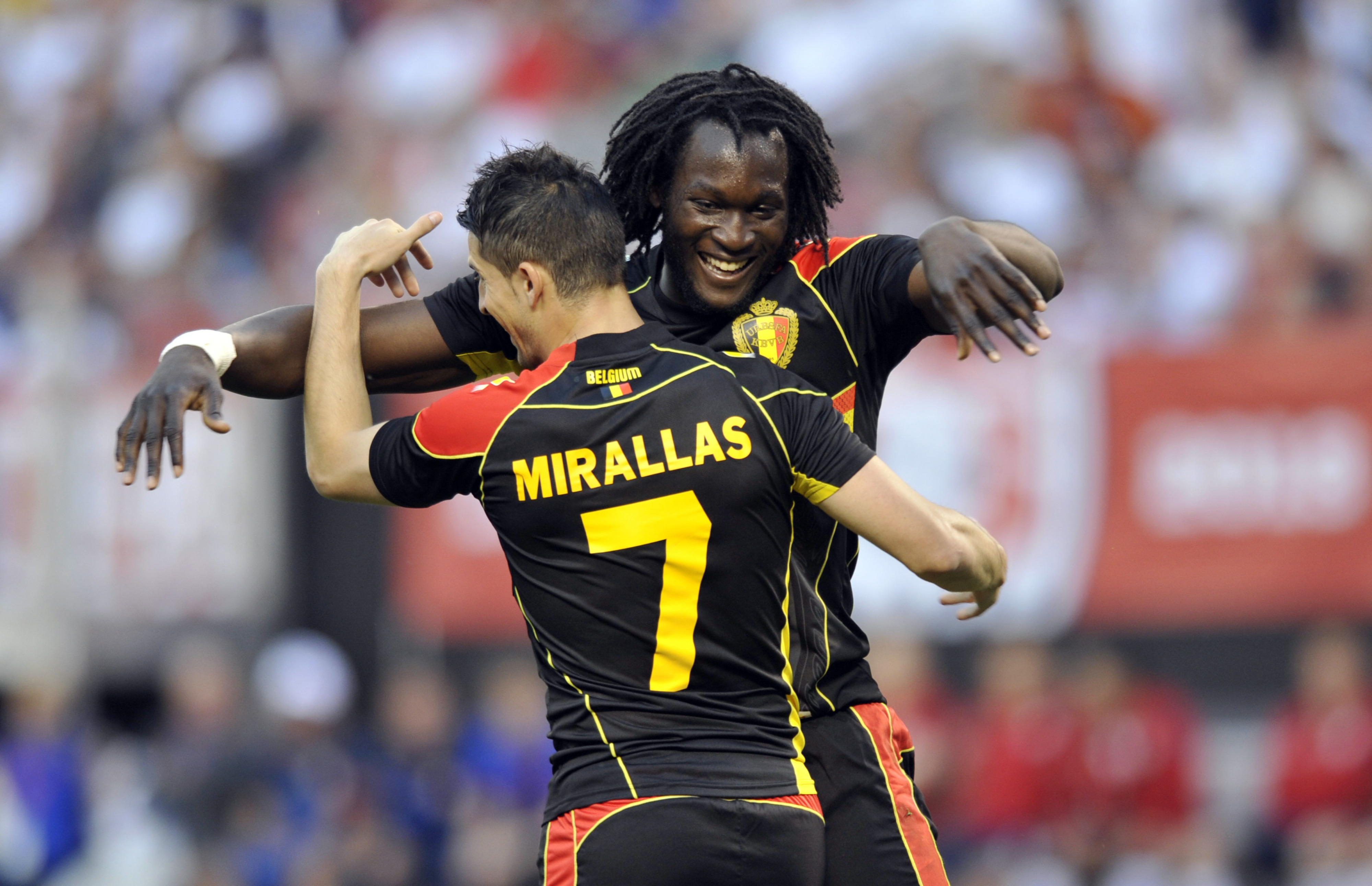 Can Lukaku and Mirallas turn club success into glory for country?