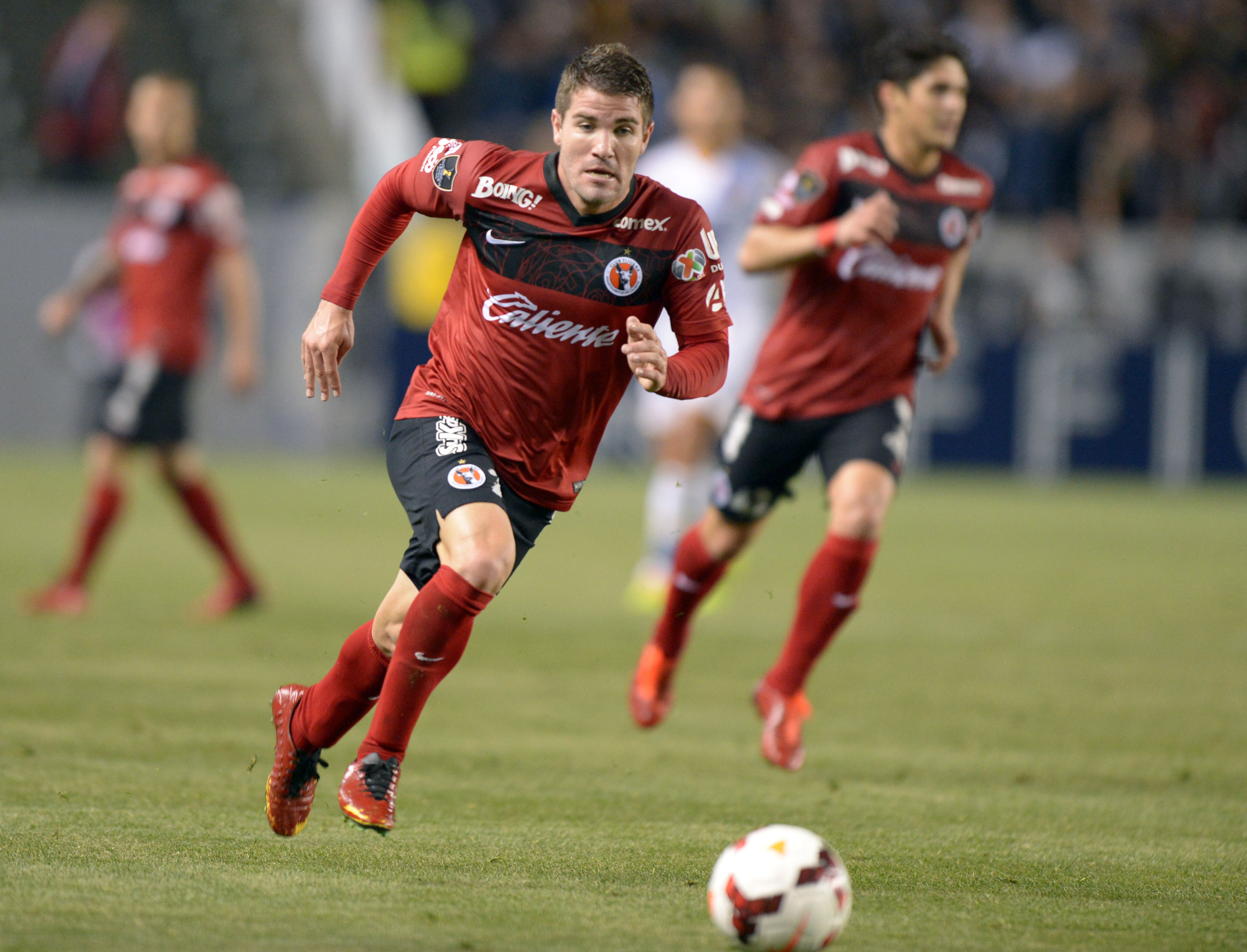 Rodriguez will join Americans at Tijuana like Greg Garza (pictured)
