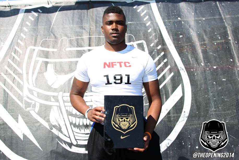 Kendell Jones gets his The Opening invite earlier this year