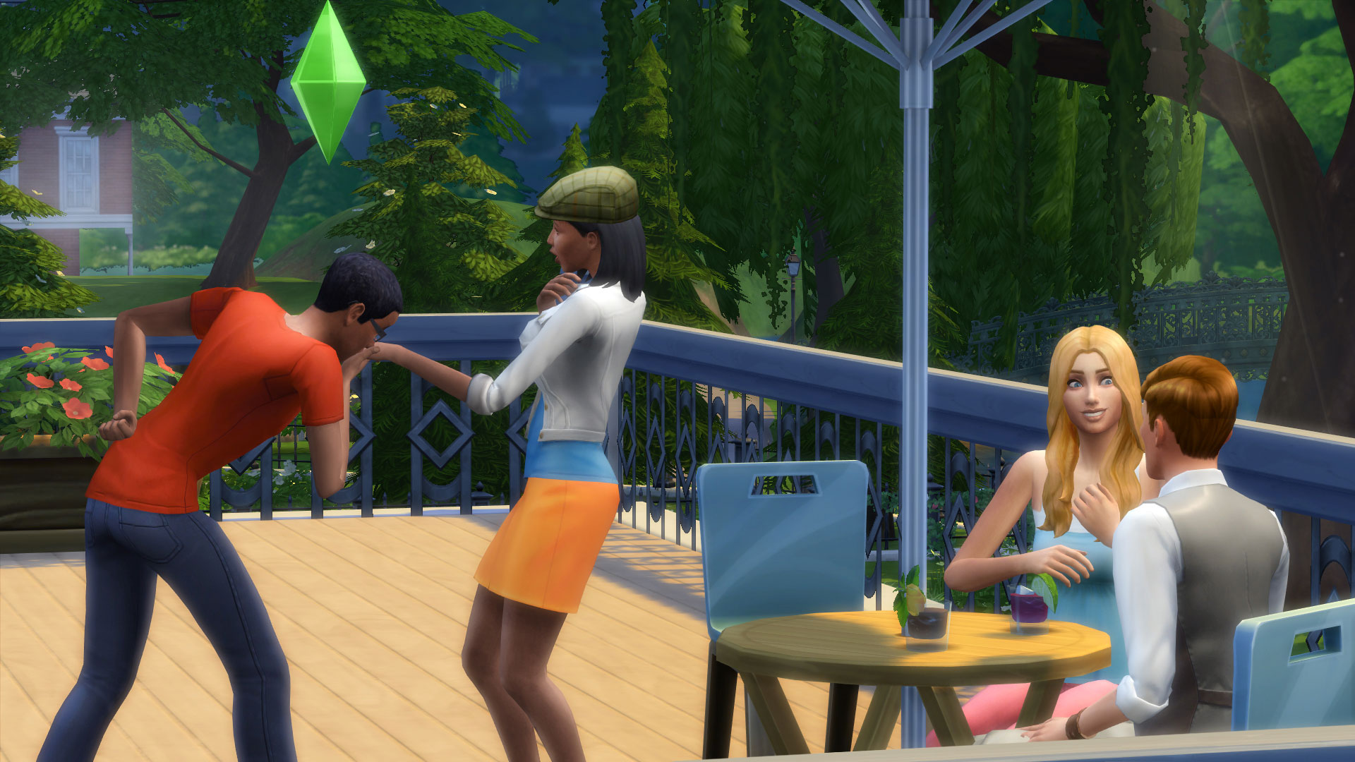 The Sims 4 digs deep into emotions, personalities and casual attire