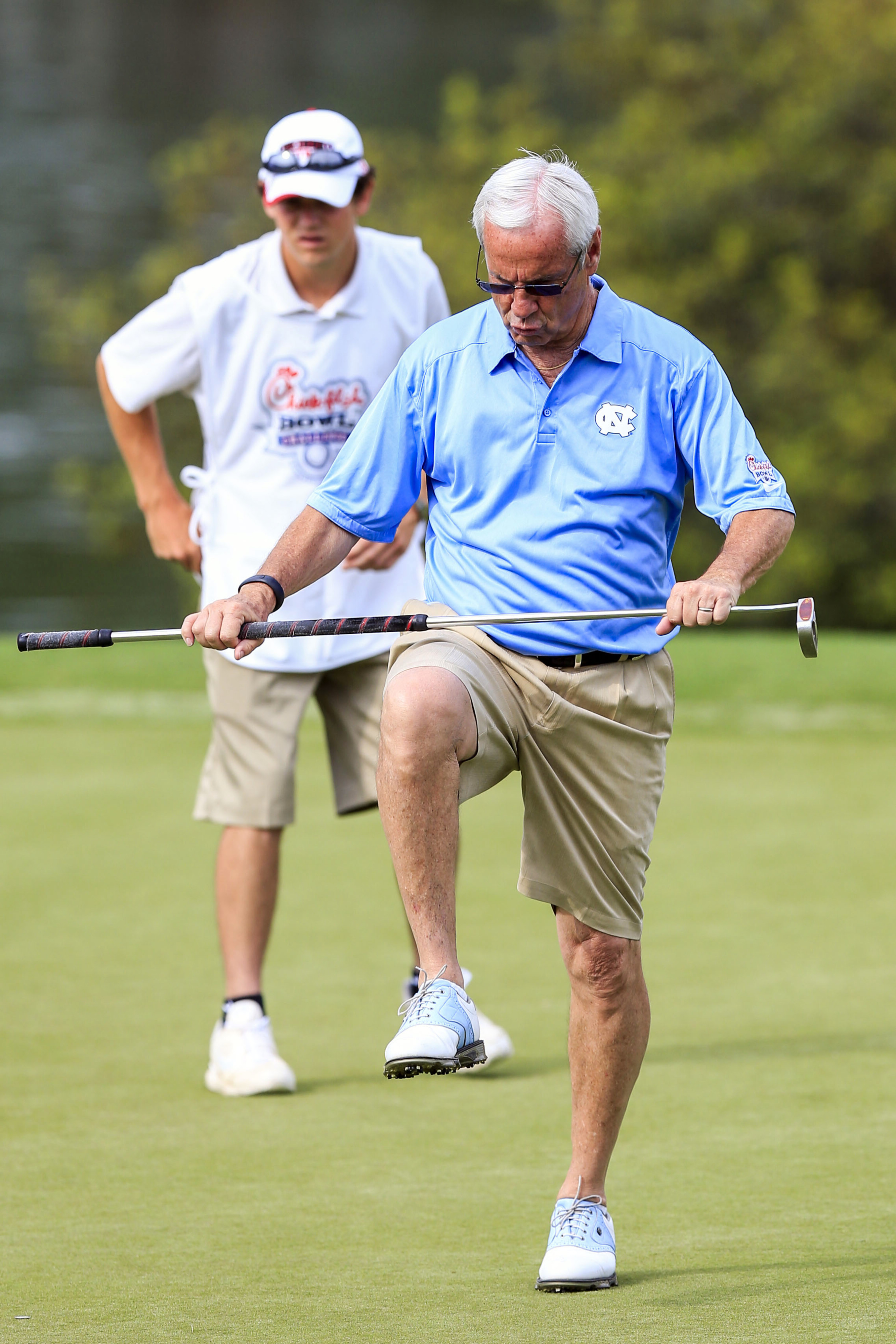 Roy Williams probably wishes he could just focus on his putting this summer