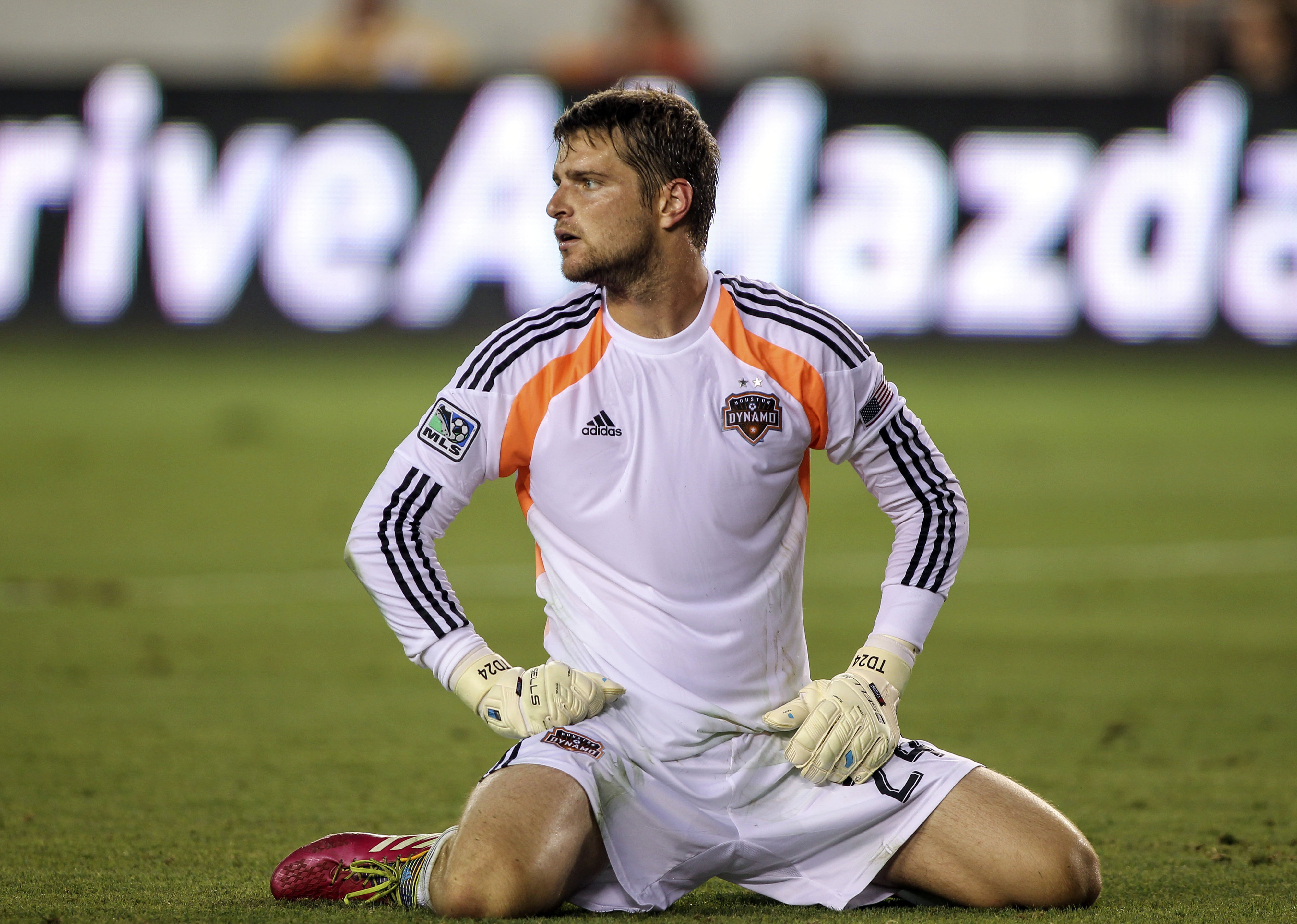 Tyler Deric is a product of the Dynamo Academy and now plays for the Houston Dynamo