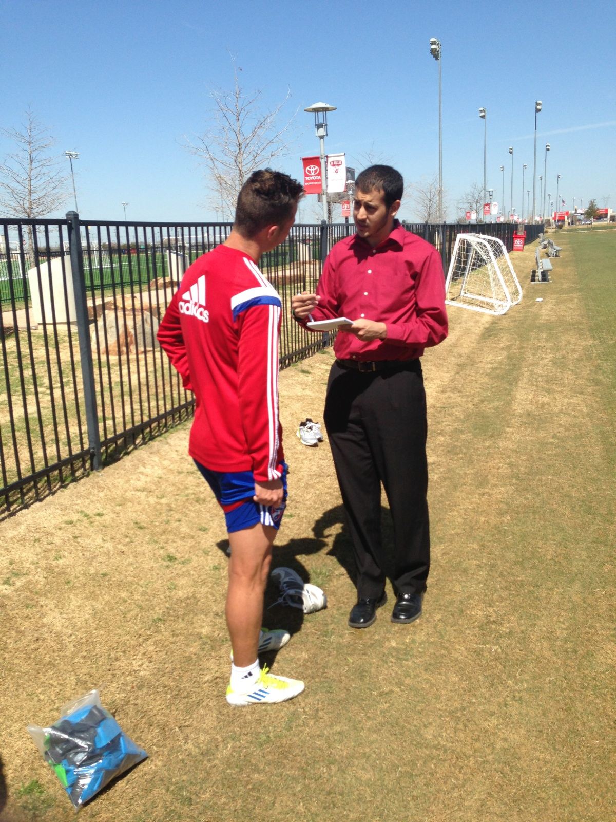 Interviewing The Left-Footed Master