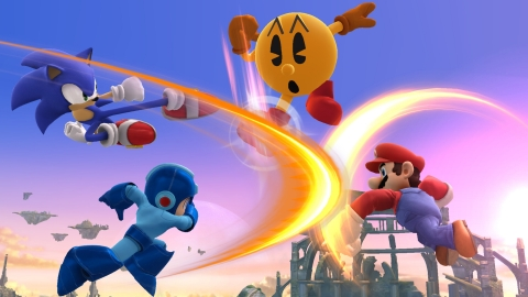 Pac-Man headed to Super Smash Bros., Mr. Game & Watch teased (update)