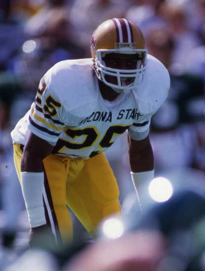 Eric Allen patrolled the Arizona State secondary when the team won its only Rose Bowl in 1986.