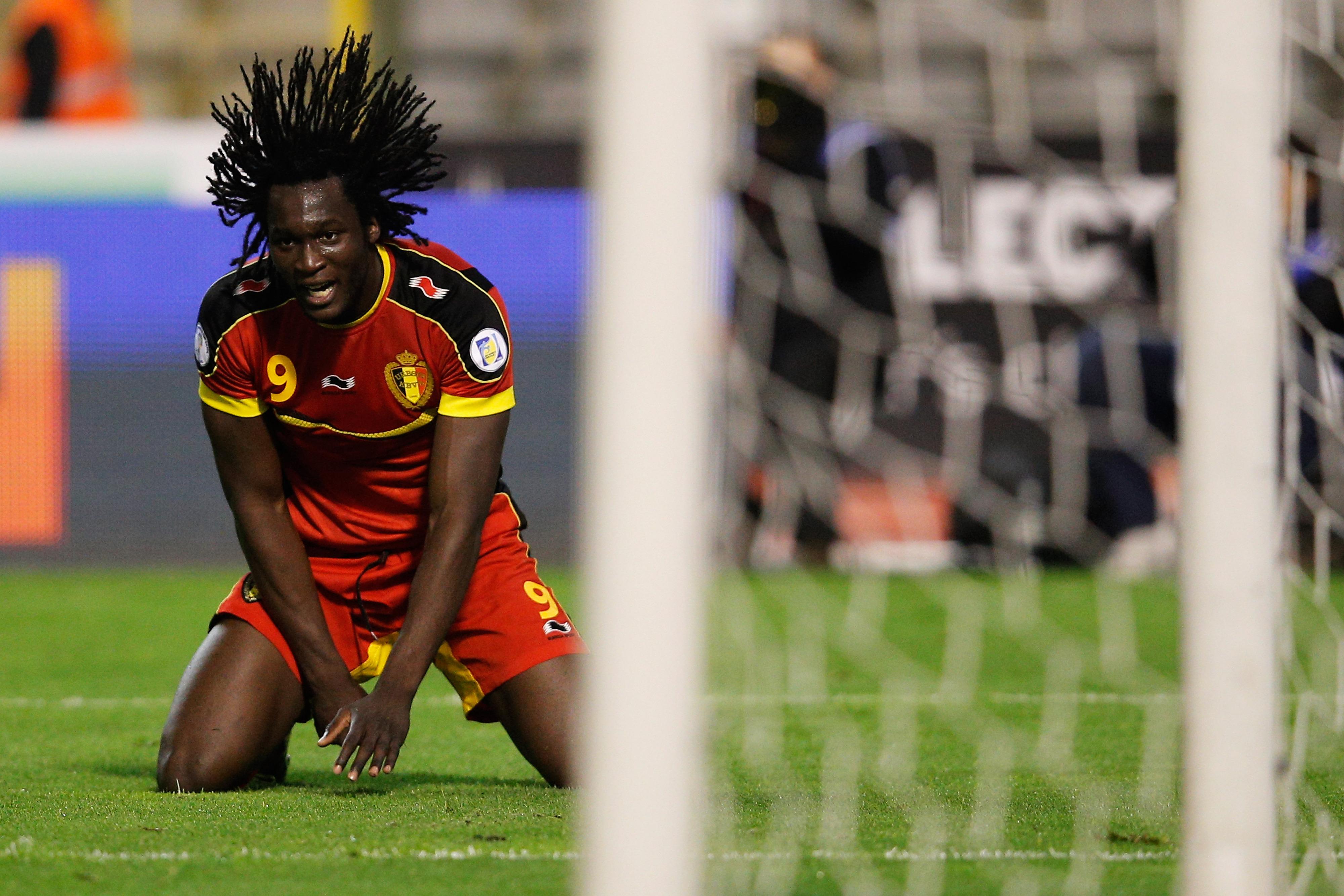 Romelu Lukaku will hope for some hair raising moments for Belgium in Brazil