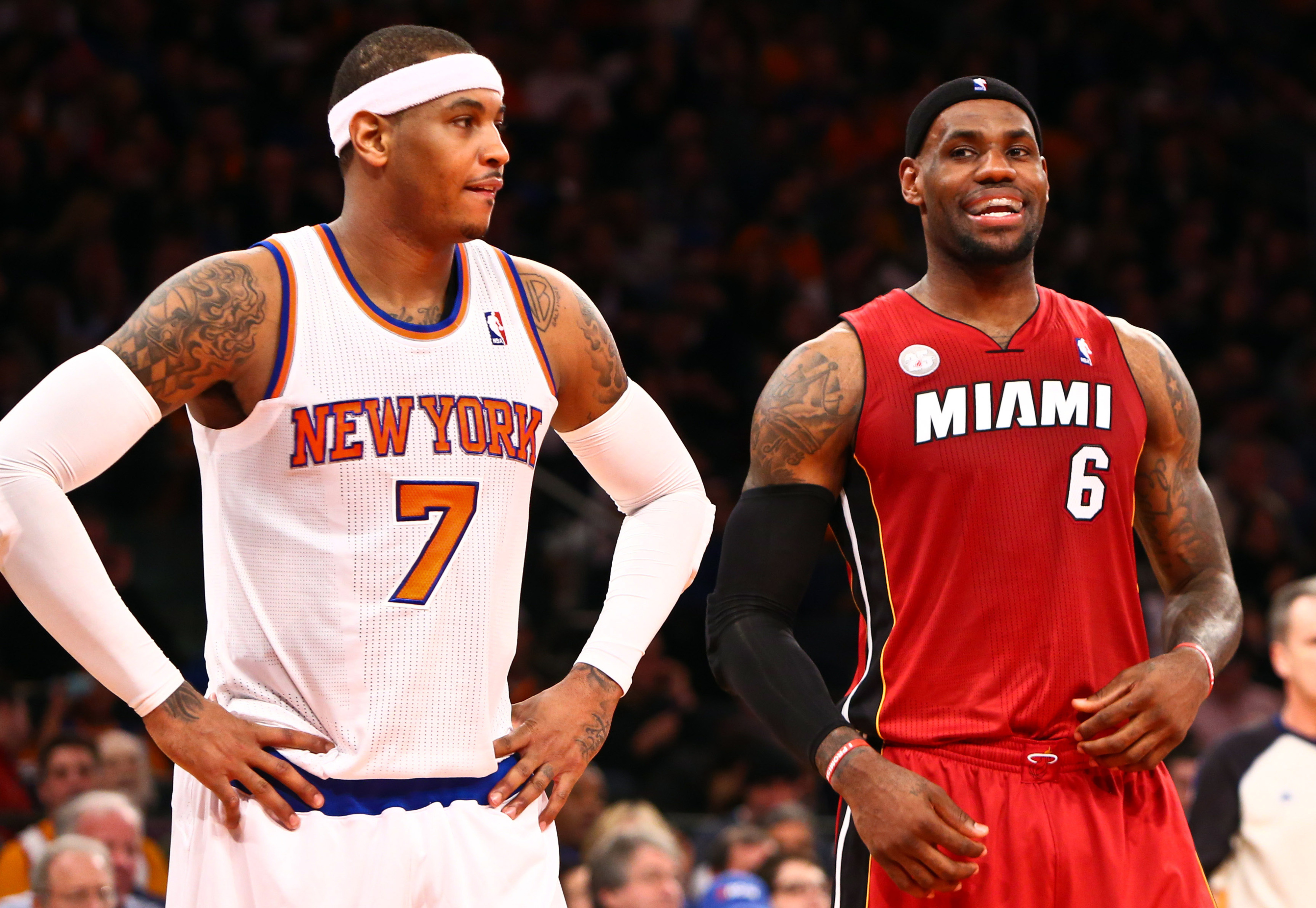 11 things you need to know about this Carmelo Anthony to Heat rumor