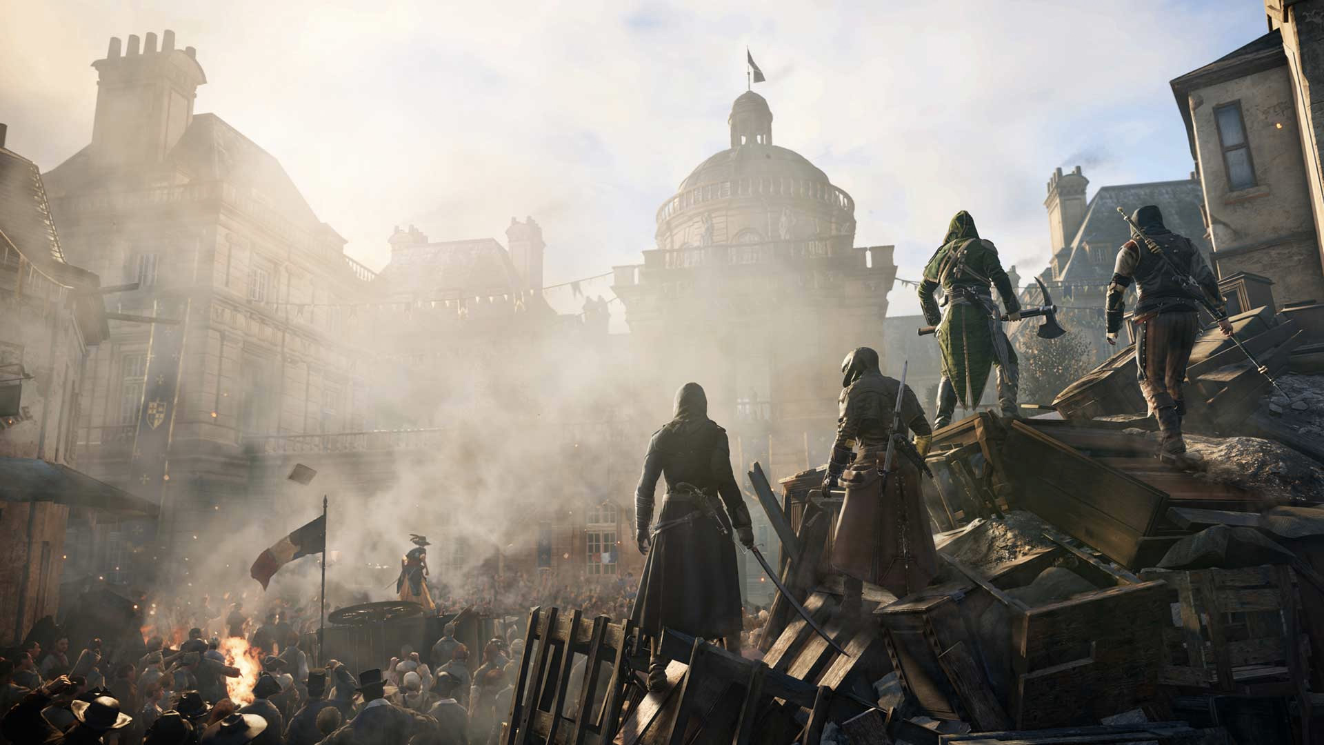 Desilets: Assassin's Creed Unity with four women would have been awesome