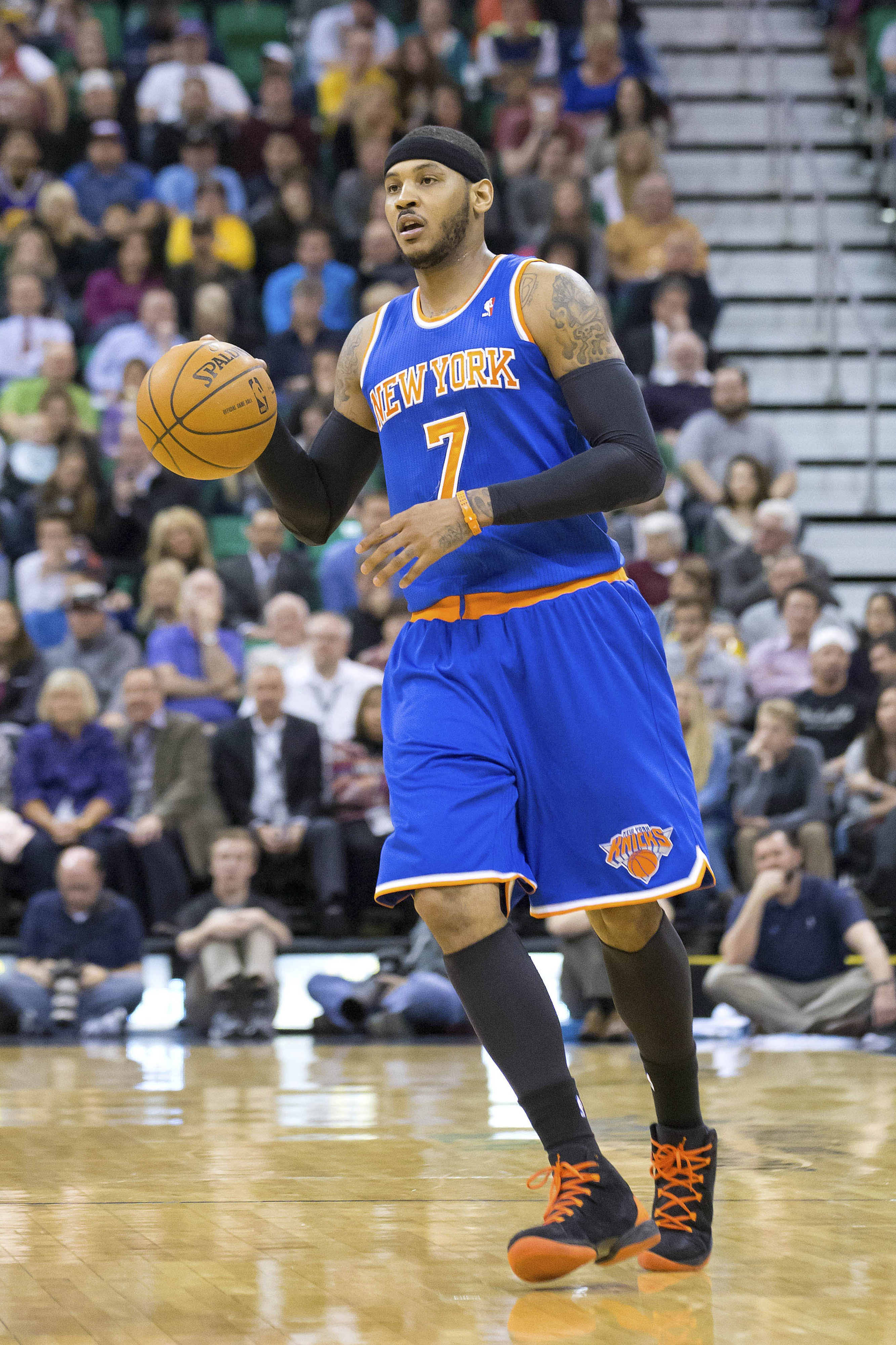 Carmelo Anthony favoring leaving Knicks for Bulls or Rockets