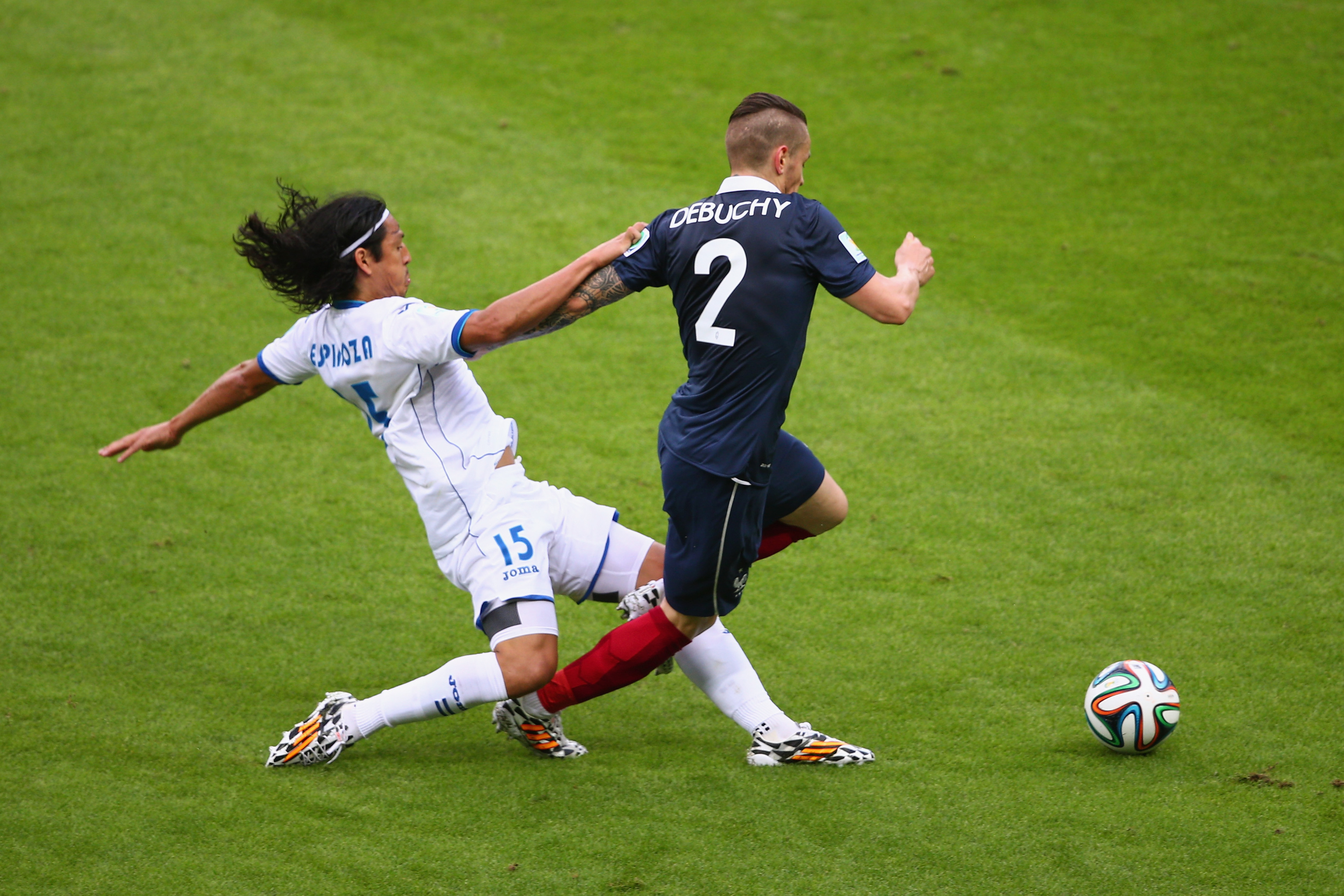 Honduras just couldn't keep up with France.